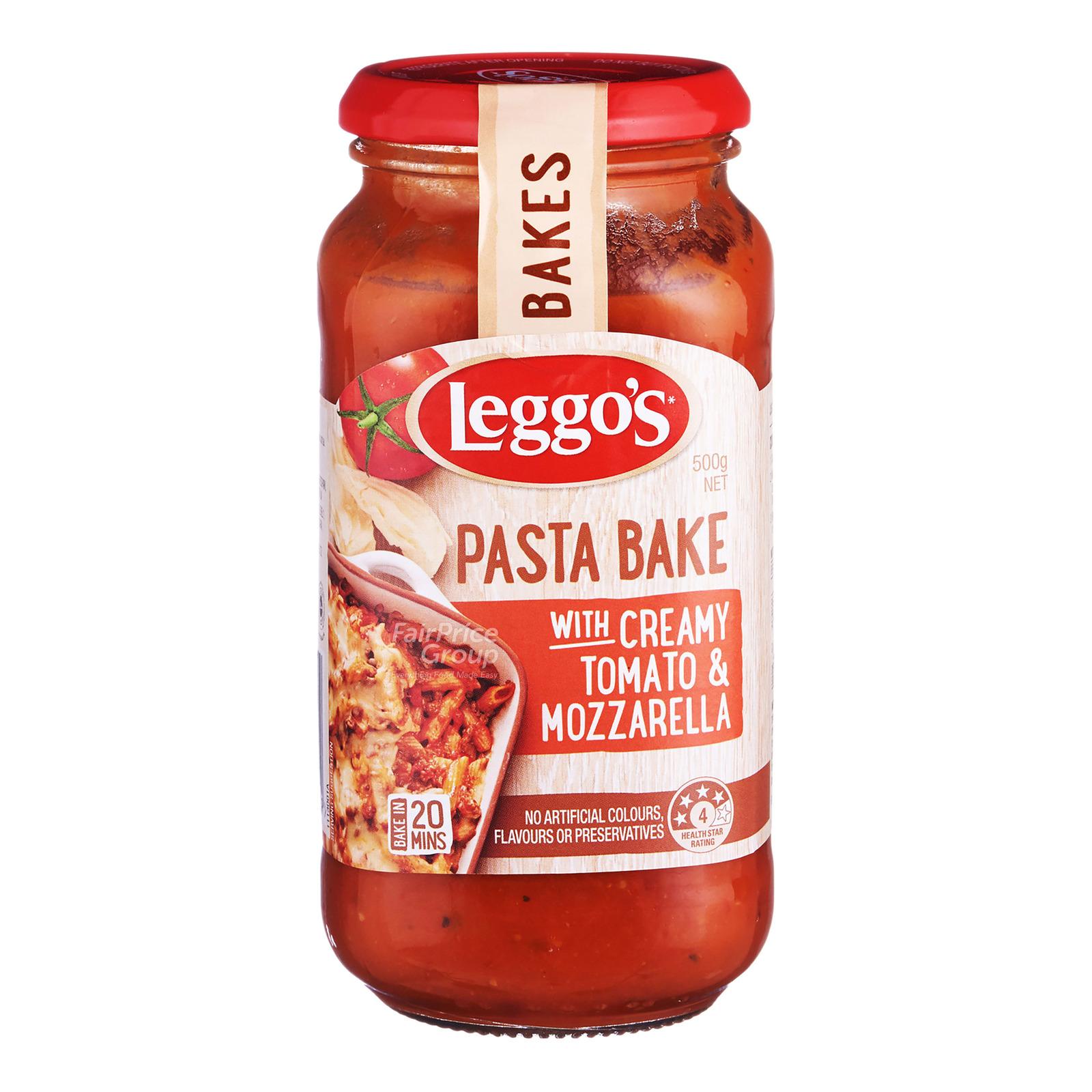 Leggo's Pasta Bake Sauce - Creamy Tomato & Mozzarella