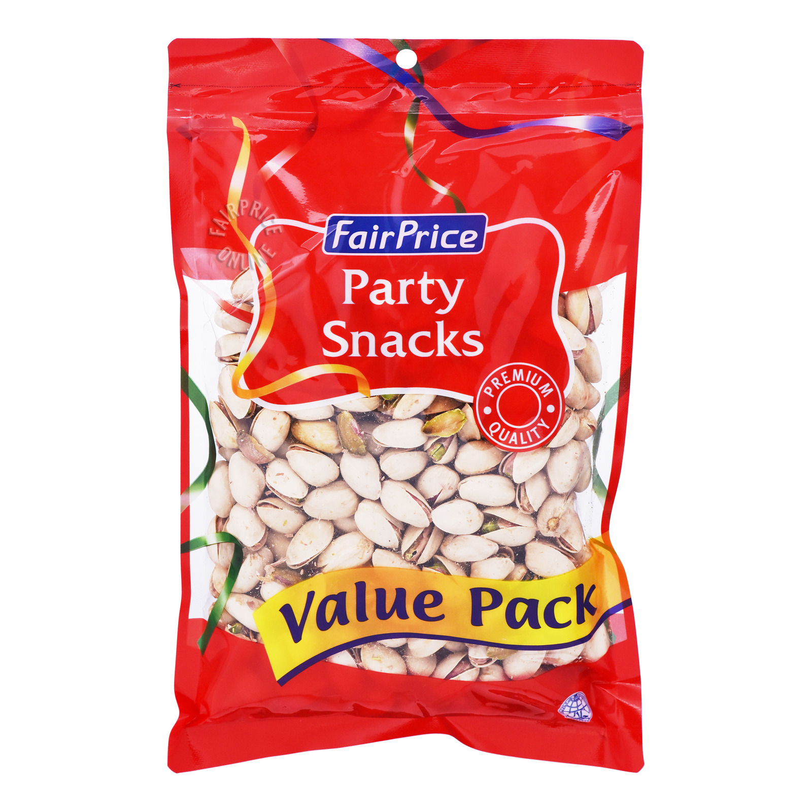 FairPrice Party Snacks - Roasted Pistachios (Unsalted)