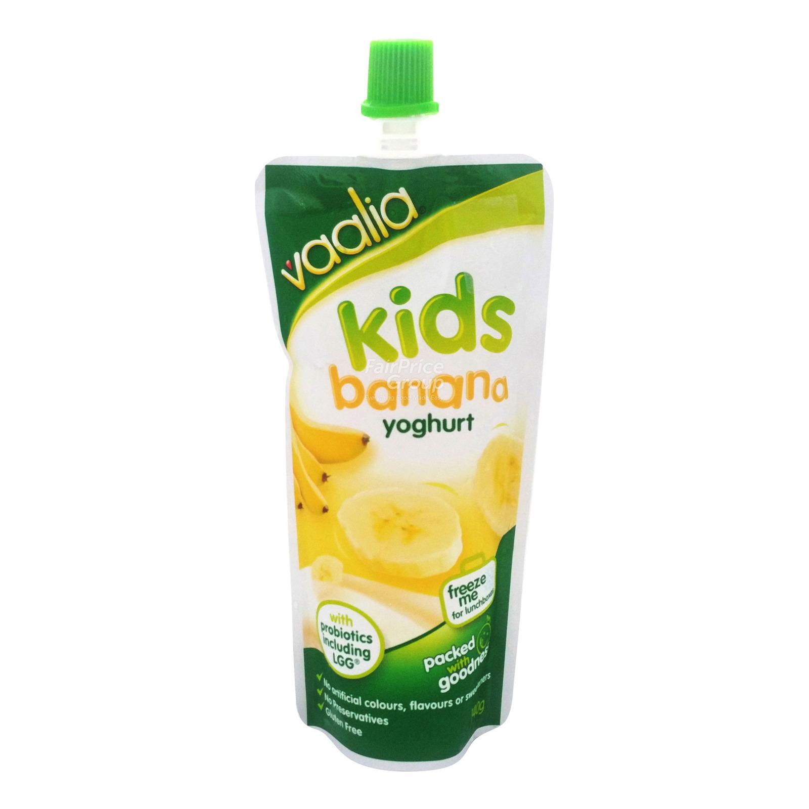 Vaalia Kids Yoghurt Pack - Banana
