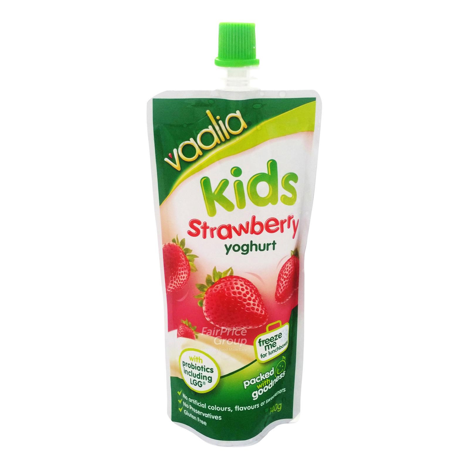 Vaalia Kids Yoghurt Pack - Strawberry