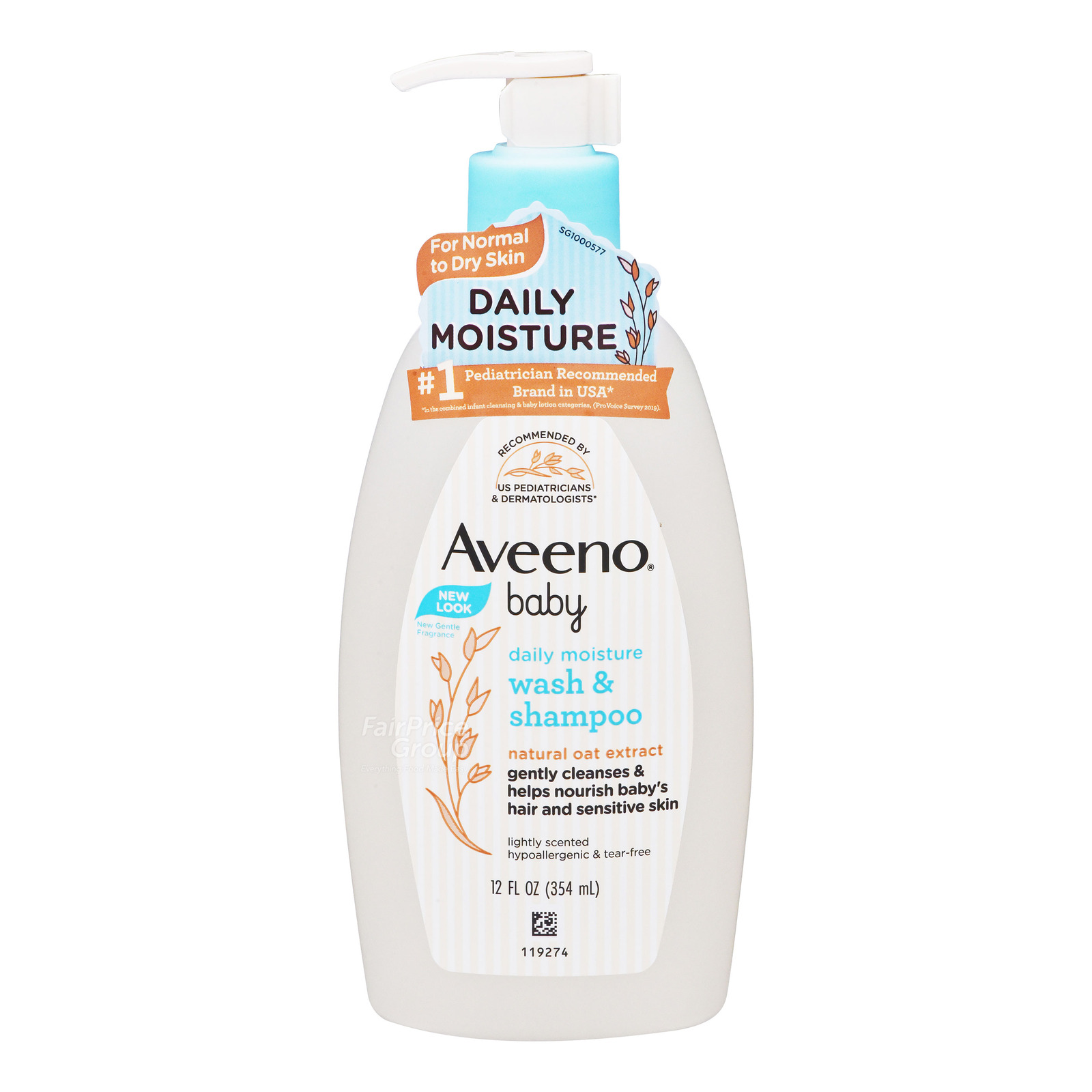 Aveeno Baby Wash & Shampoo - Daily Care
