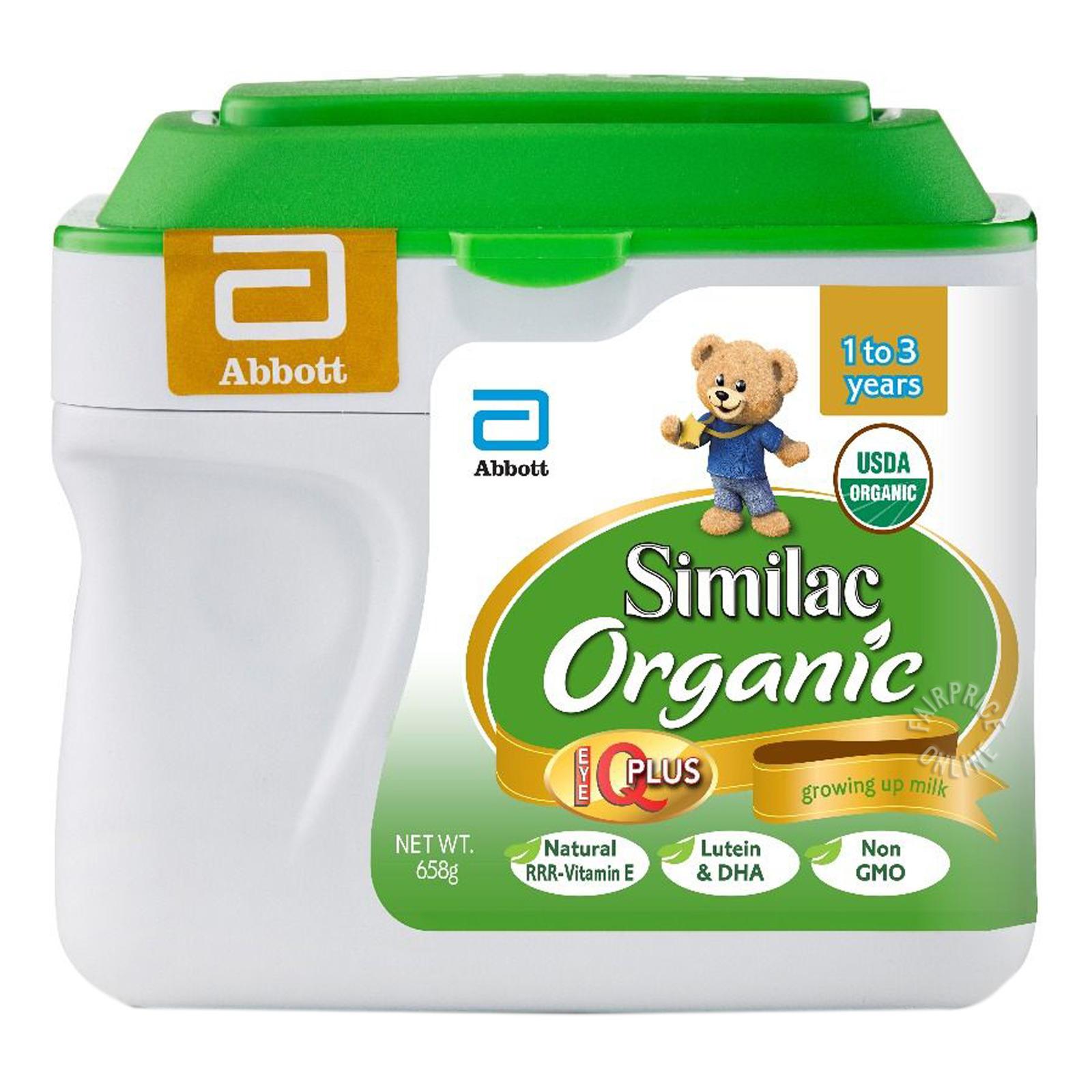 Abbott Similac Organic Follow On Milk Formula - Stage 2
