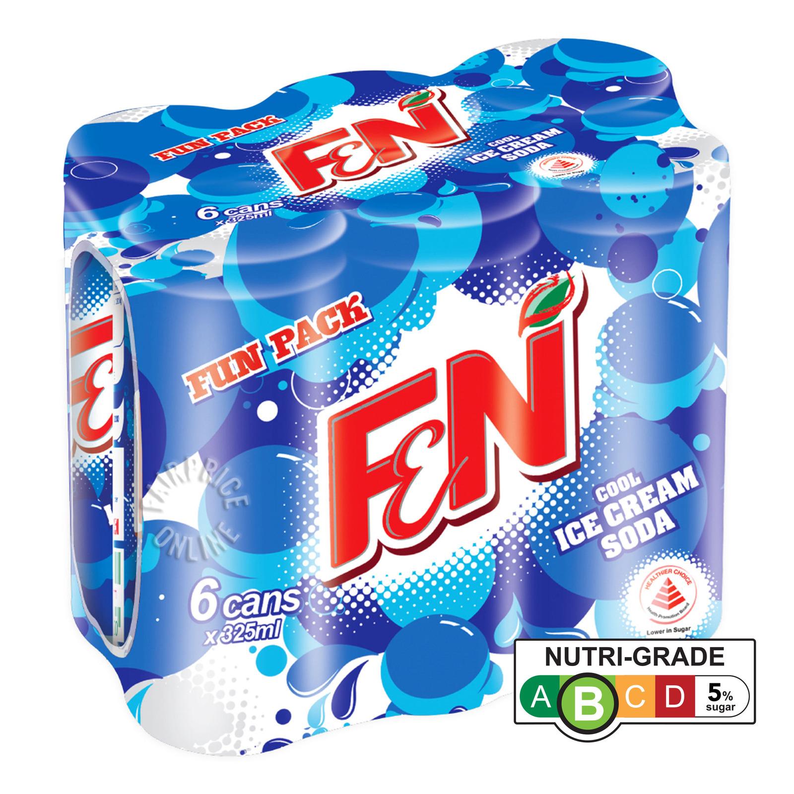 F&N Can Drink - Ice Cream Soda (Fun Pack)