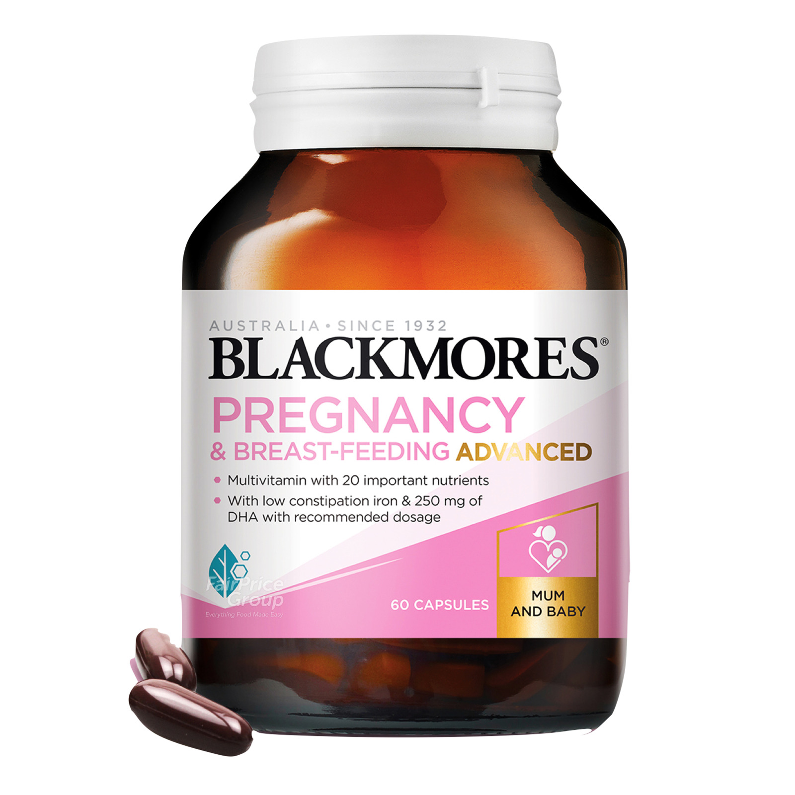 Blackmores Pregnancy Supplement - Breast-Feeding Advanced