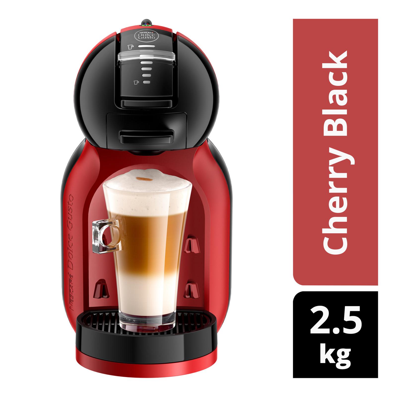 Nescafe Dolce Gusto Mini Me Coffee Machine - Cherry Black