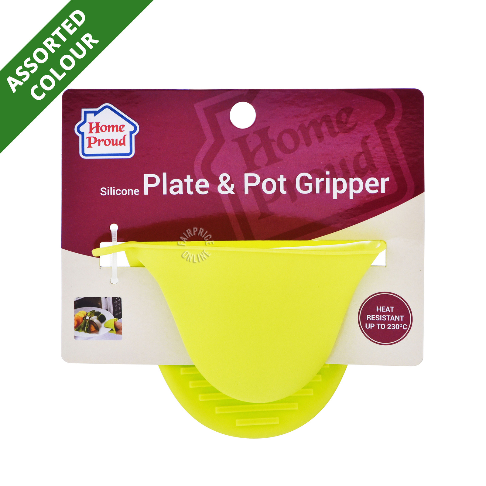 HomeProud Silicone Plate & Pot Gripper