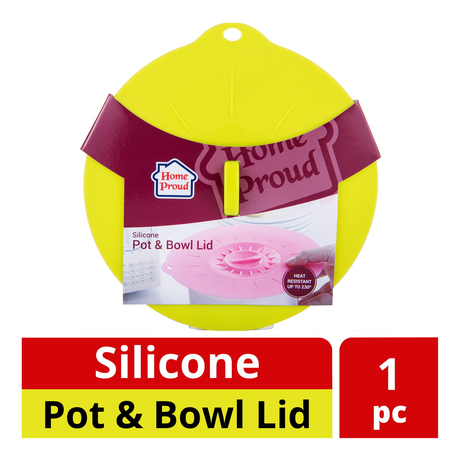 HomeProud Silicone Pot & Bowl Lid
