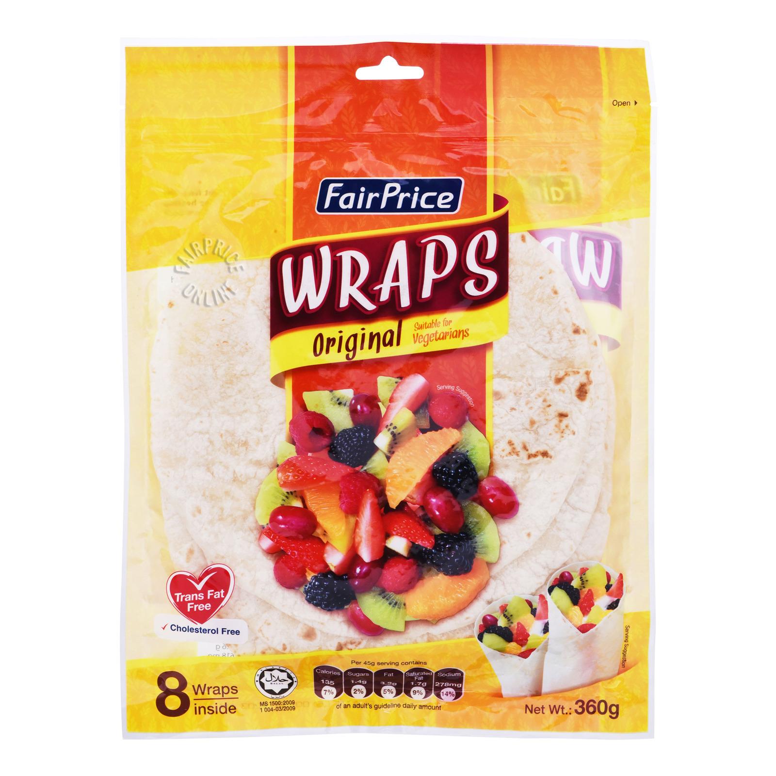 FairPrice Wraps - Original