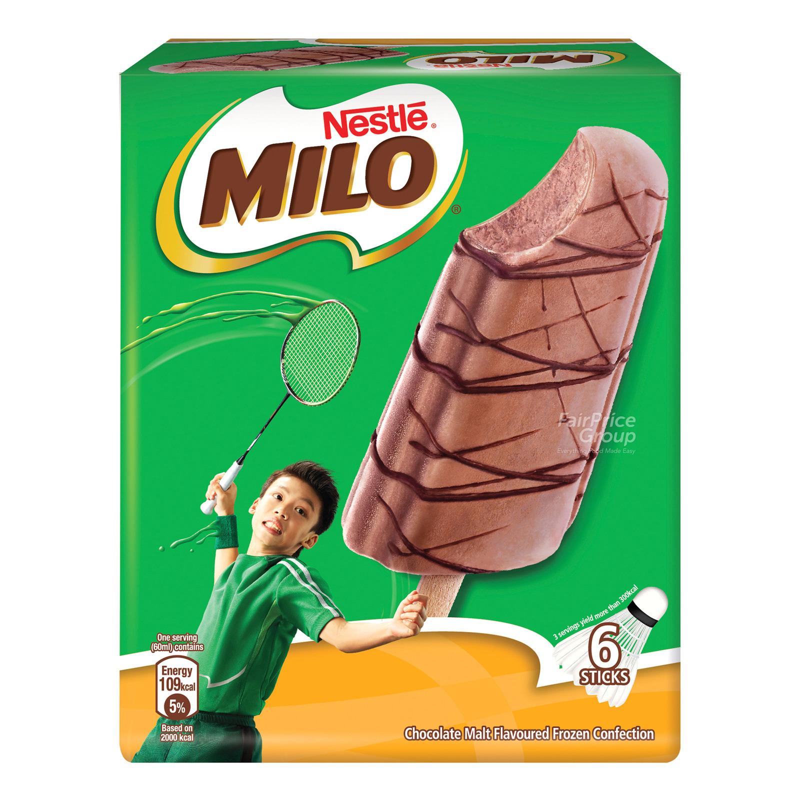 Nestle Ice Cream Sticks - Milo
