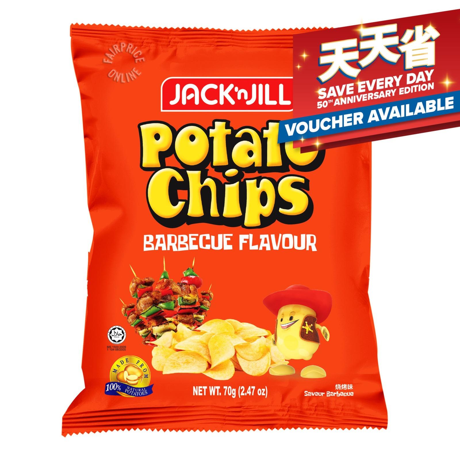 Jack 'n Jill Potato Chips - Barbecue