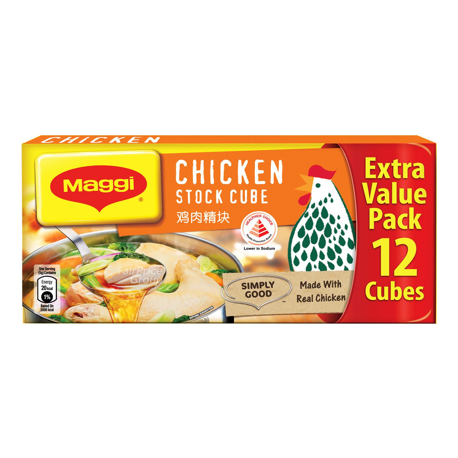 Maggi Chicken Stock Cubes Hcs 12S
