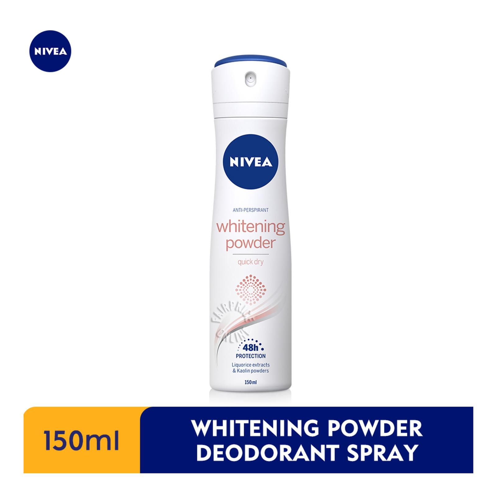Nivea Anti-Perspirant Deodorant Spray - Whitening Powder