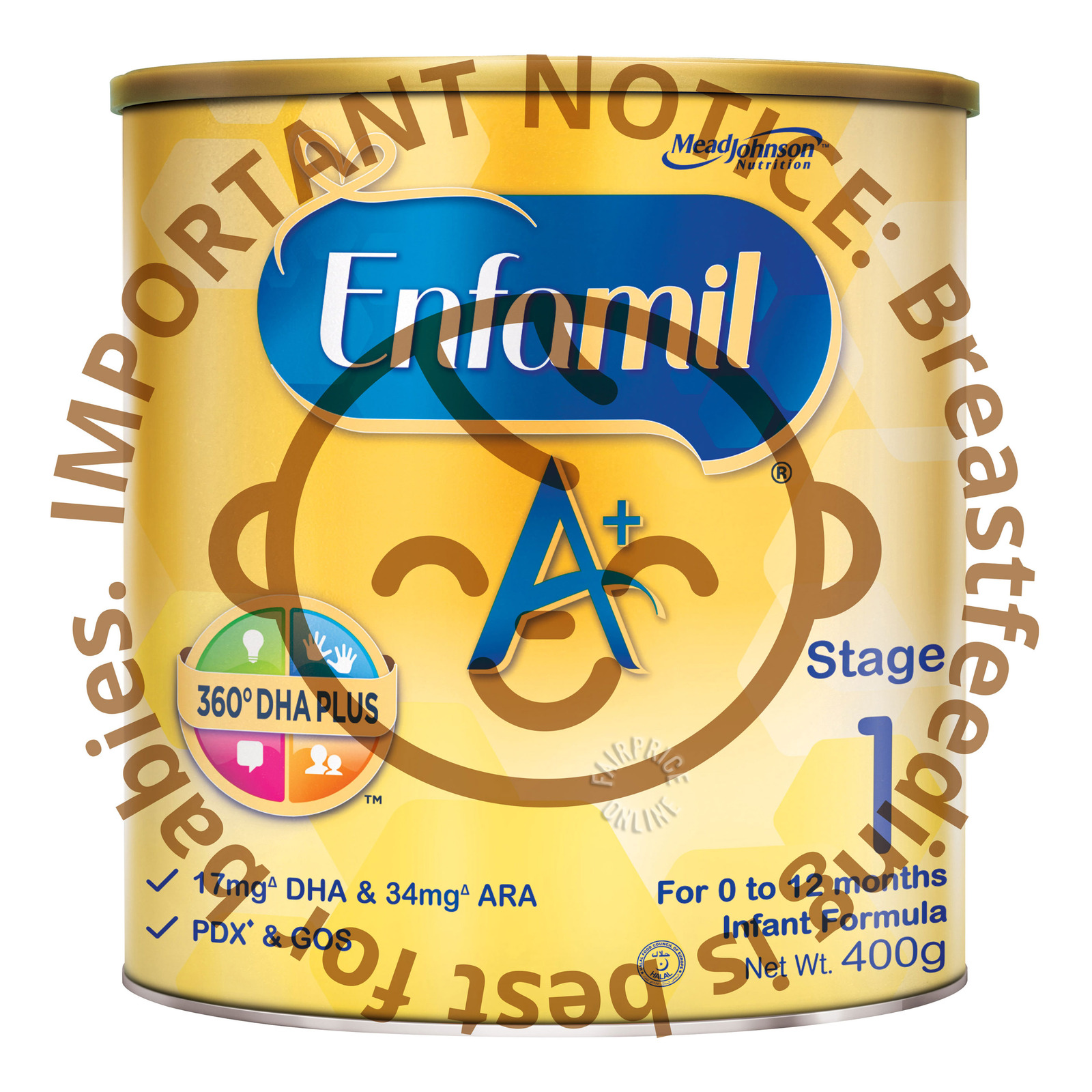 Enfamil A+ Infant Milk Formula - Stage 1