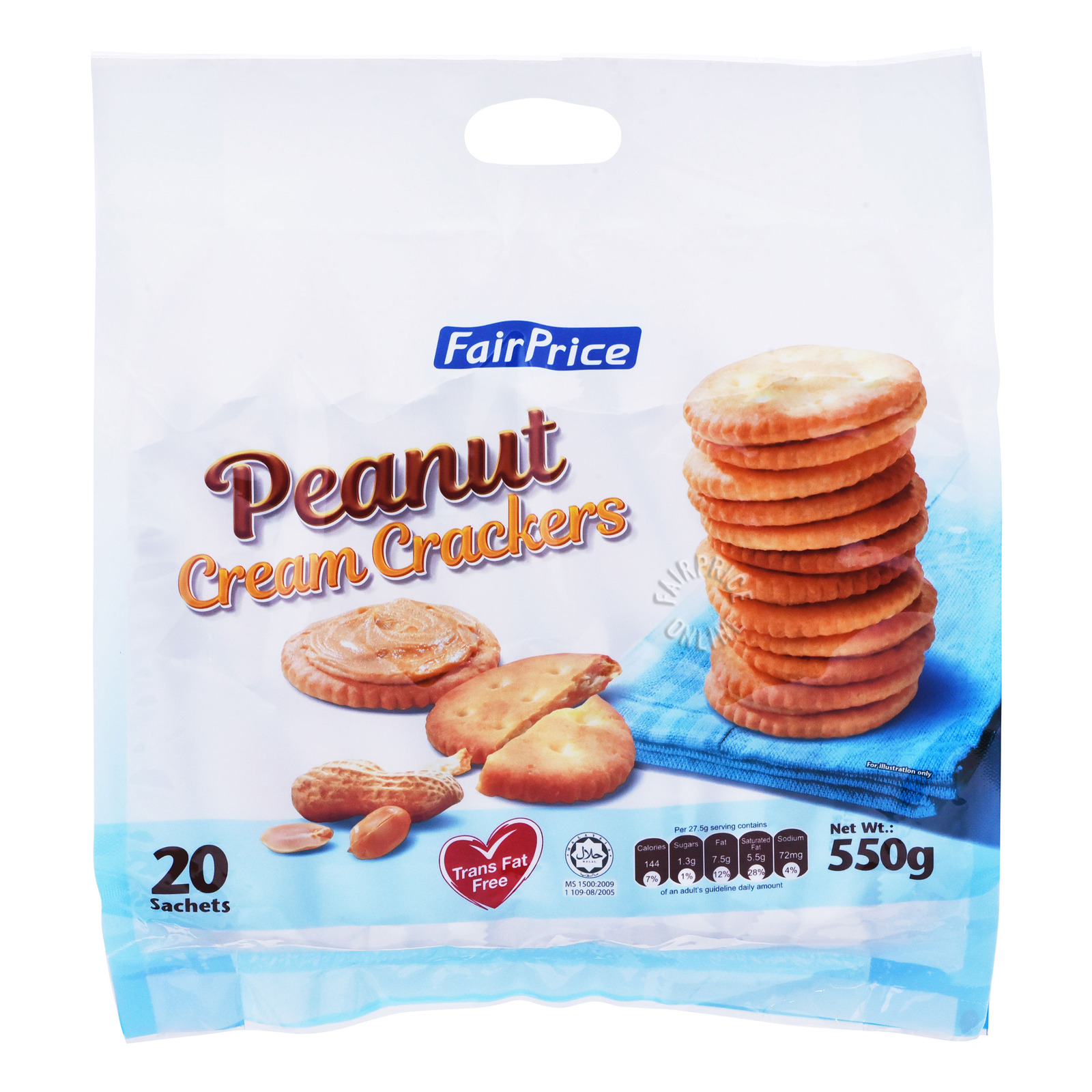 FairPrice Cream Crackers - Peanut