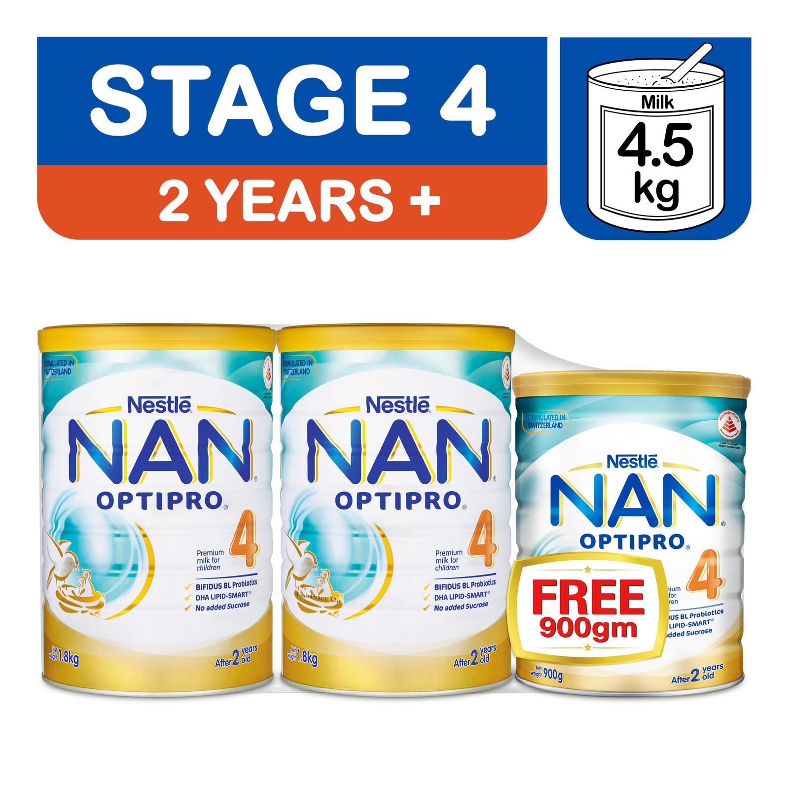 Nestle Nan Optipro Kid Children Formula -Stage 4