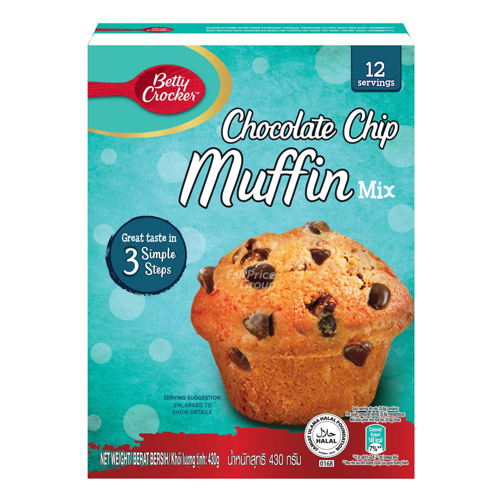 Betty Crocker Muffin Mix - Chocolate Chip