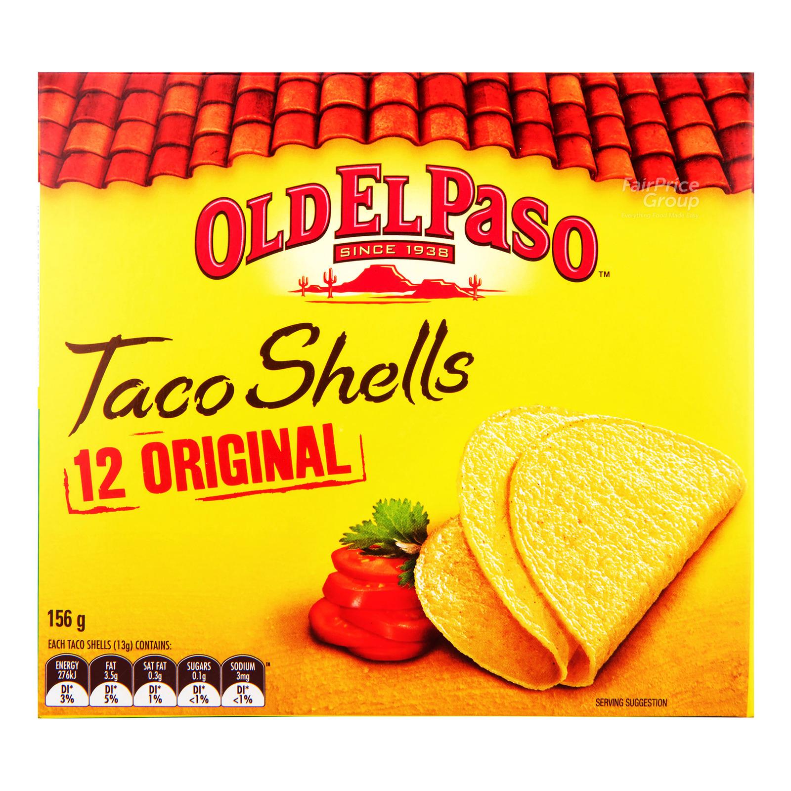Old El Paso Taco Shells - Original