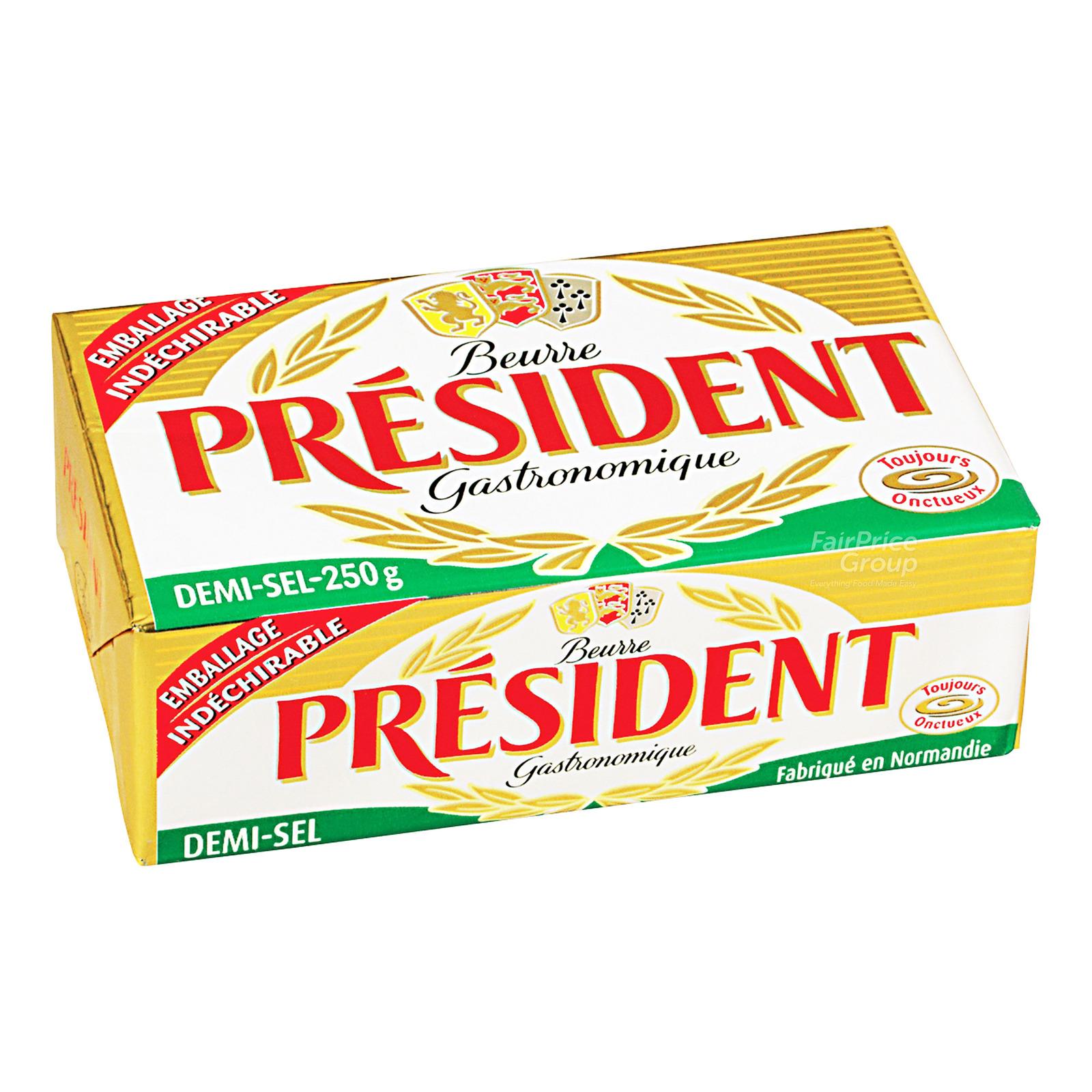 President Block Butter - Salted