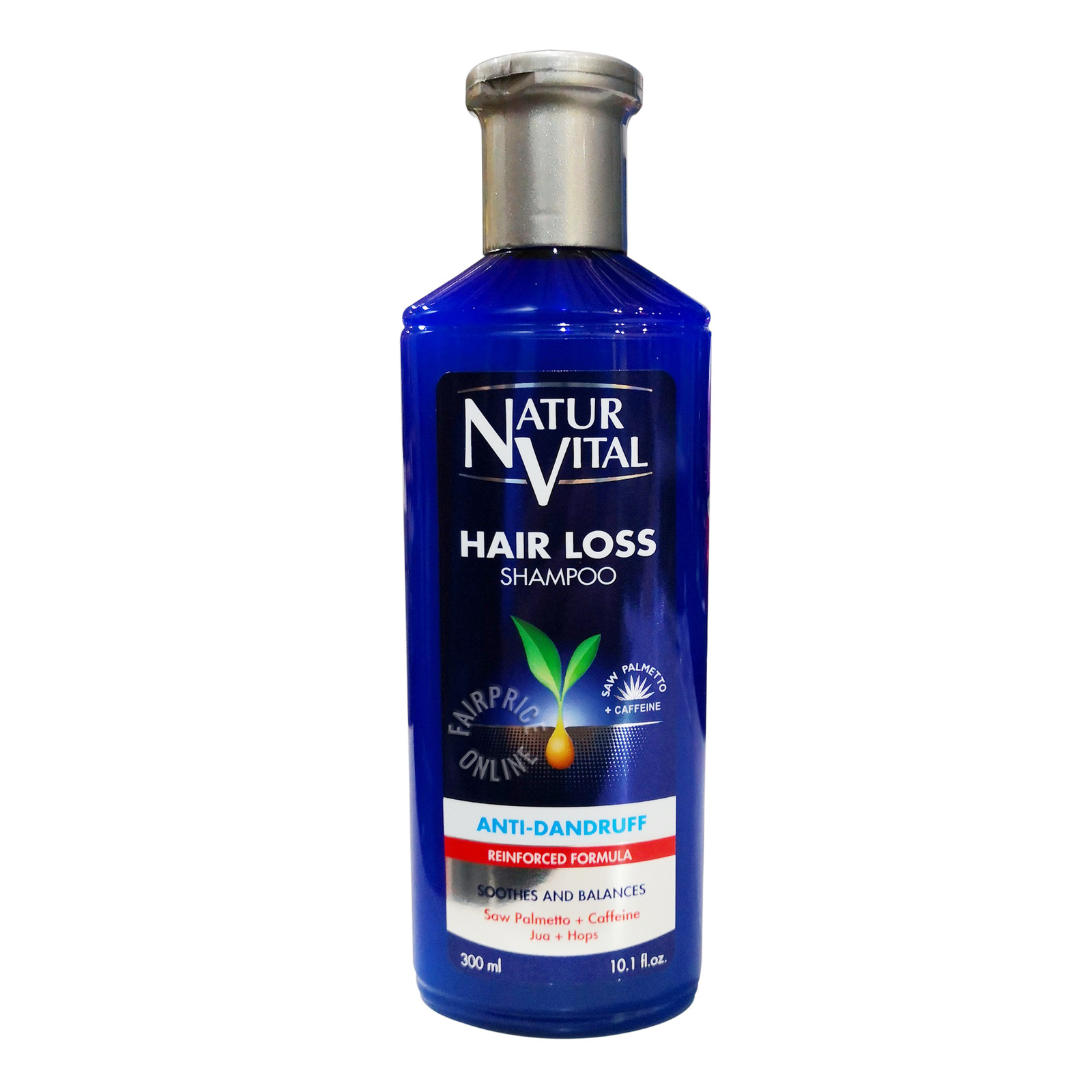 NATURVITAL anti dandruff shampoo normal hair 300ml