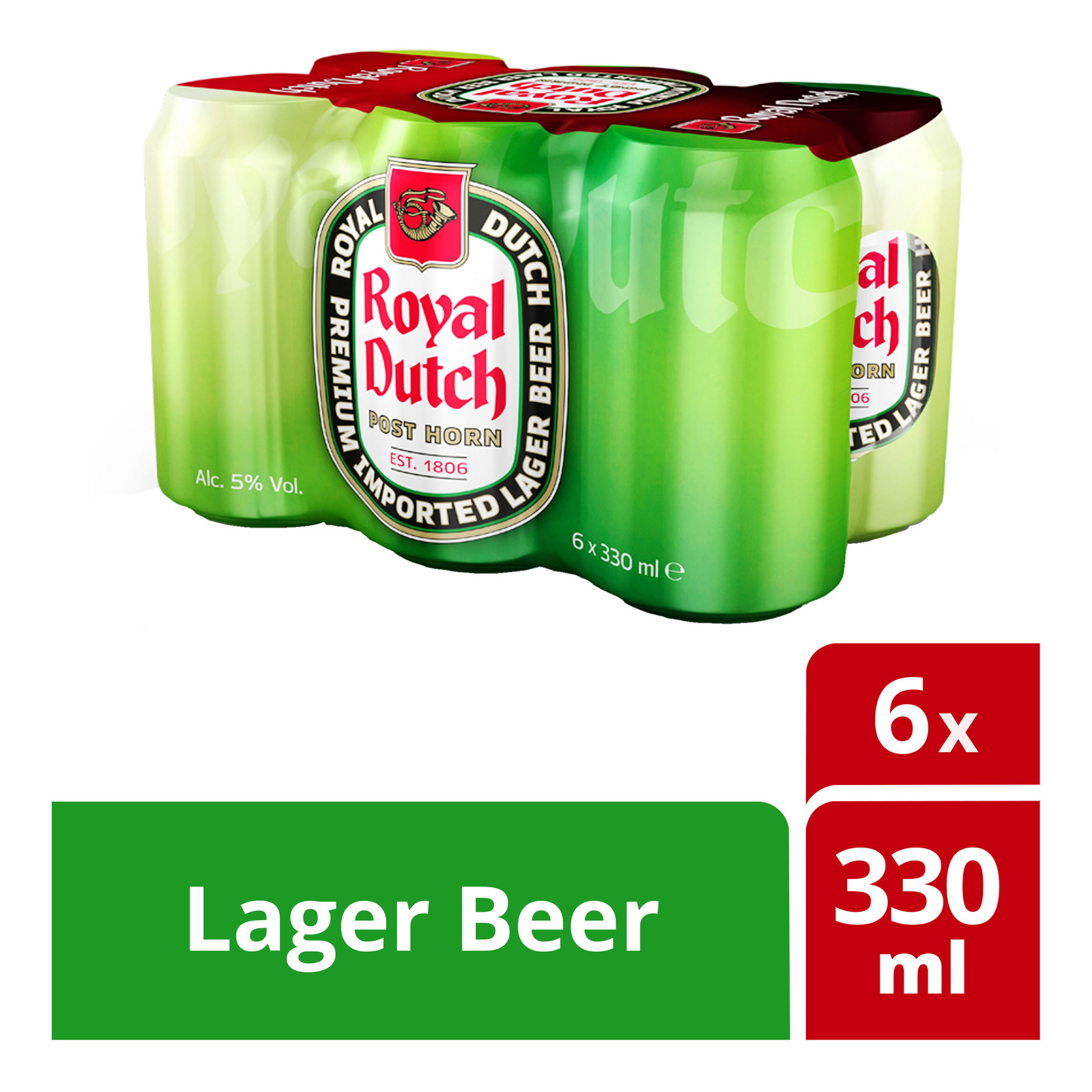 Royal Dutch Larger Can Beer