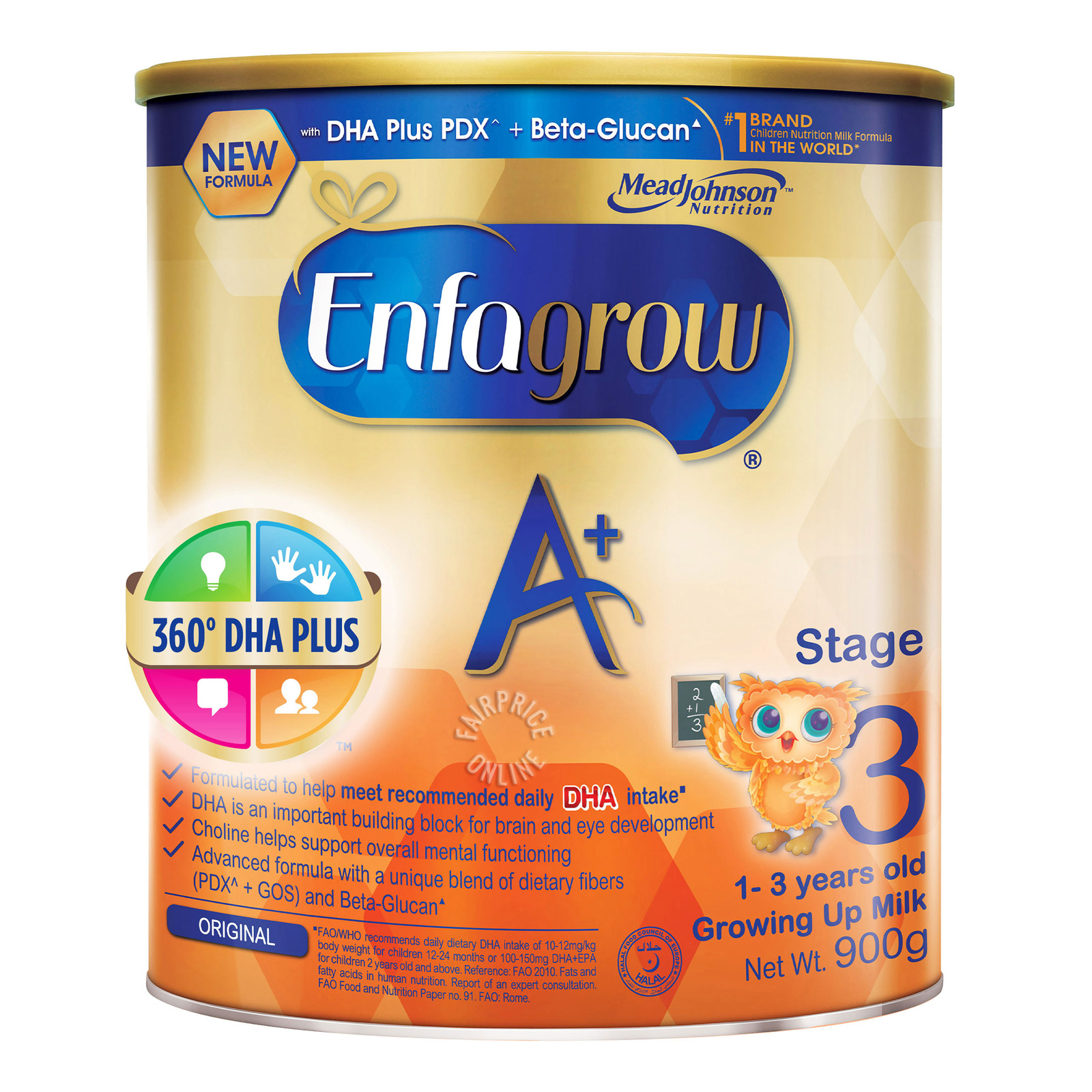 Enfagrow A+ Toddler Milk Powder Formula - Stage 3 (Original)
