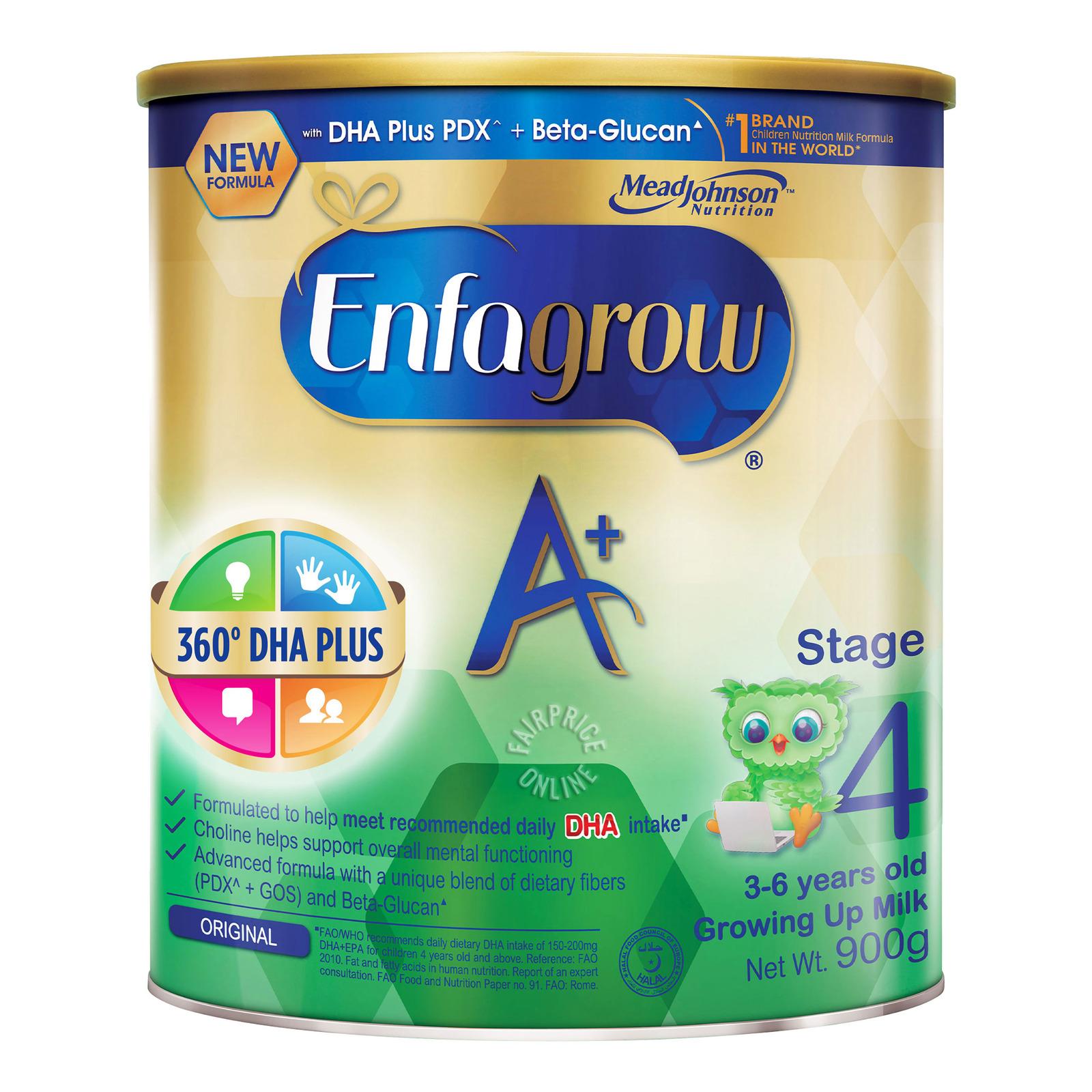 Enfagrow A+ Stage 4 Baby Formula Milk Powder 360DHA+ 3-6 Years Old