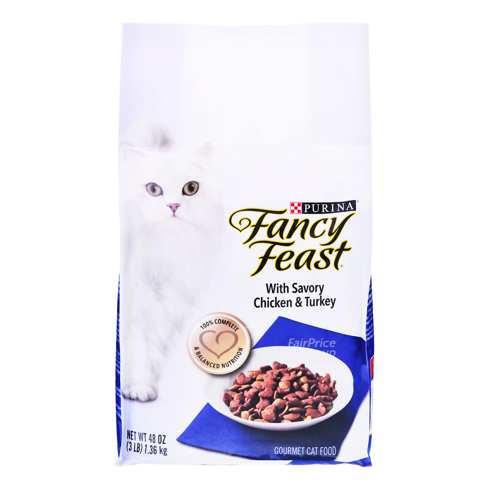 Fancy Feast Dry Cat Food - Savory Chicken & Turkey