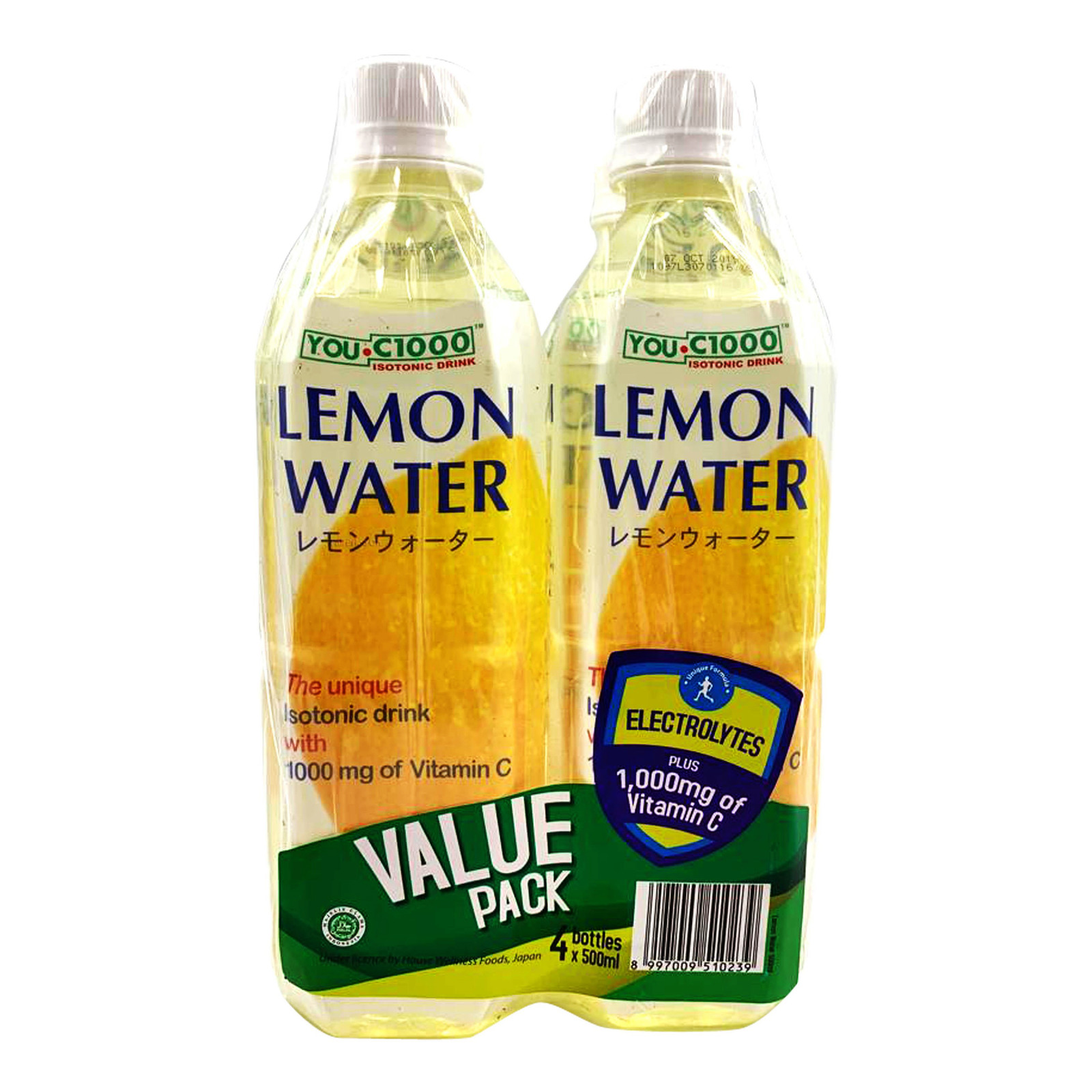 YOU-C1000 Isotonic Bottle Water - Lemon