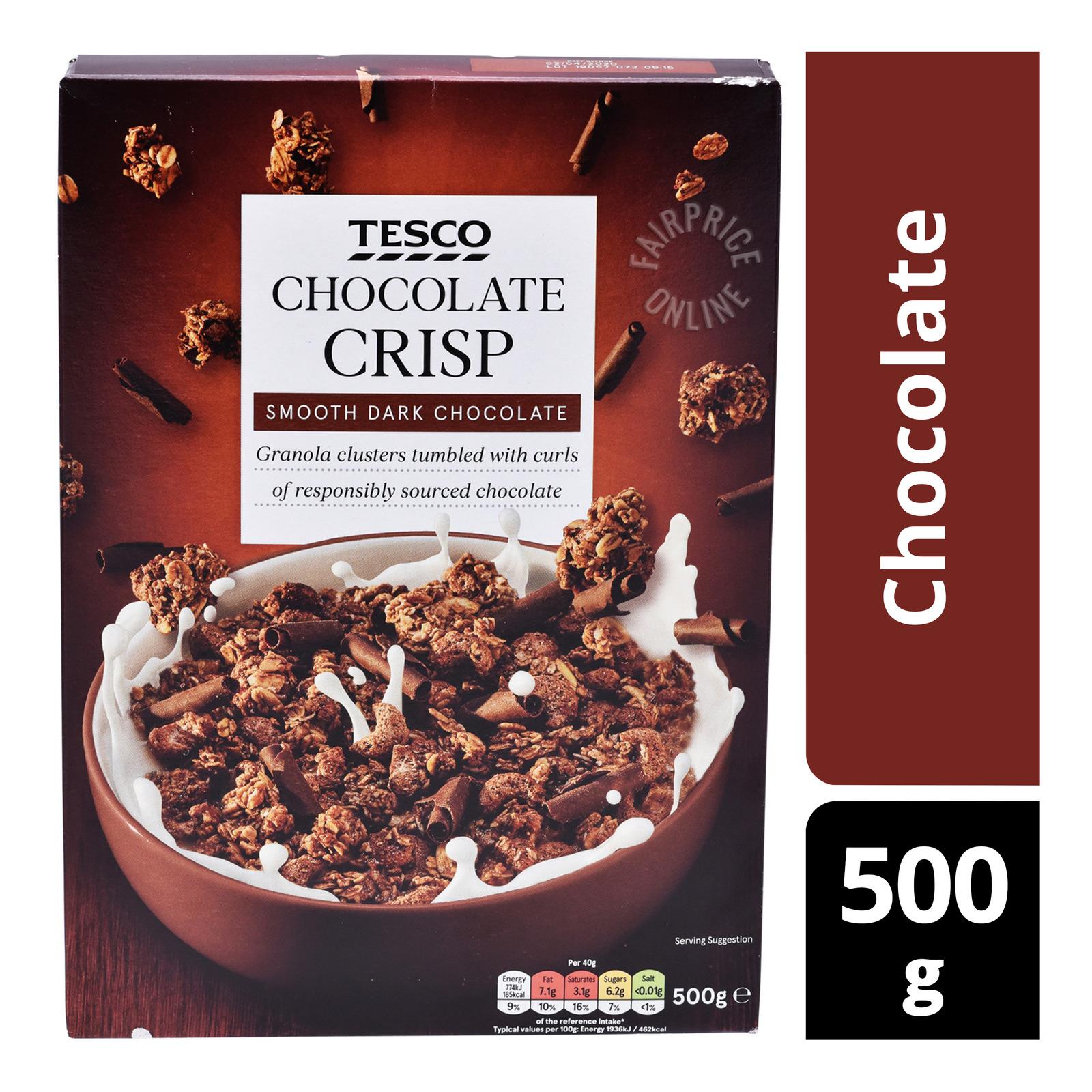 Tesco Crisp Cereal - Chocolate