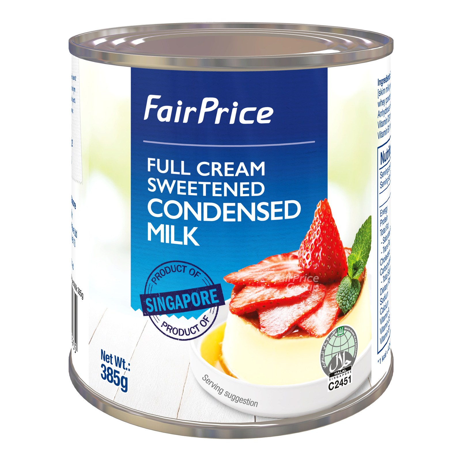 FairPrice Full Cream Sweetened Condensed Milk