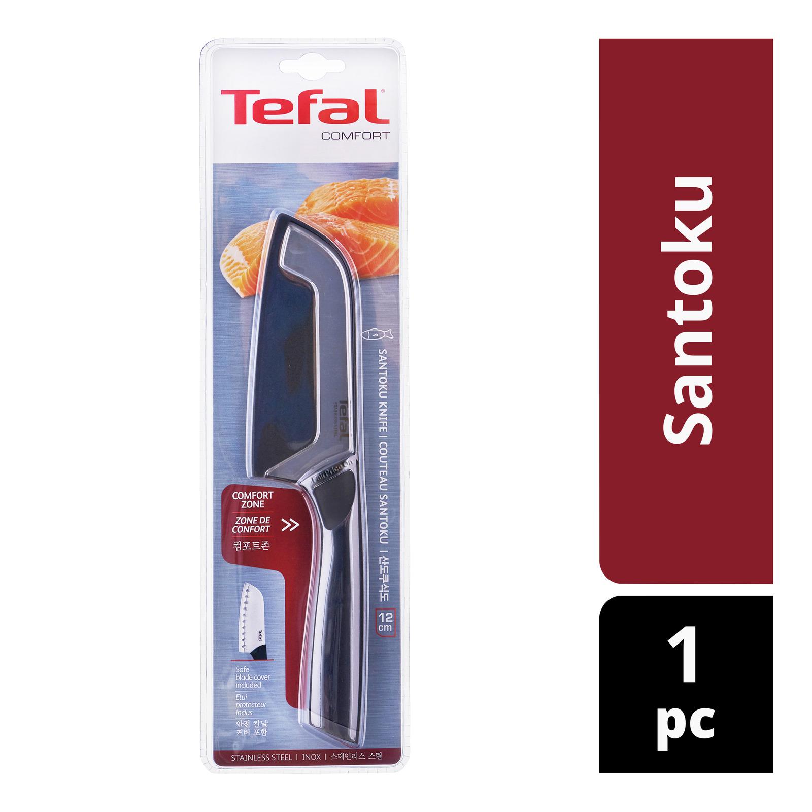 Tefal Stainless Steel Knife - Santoku
