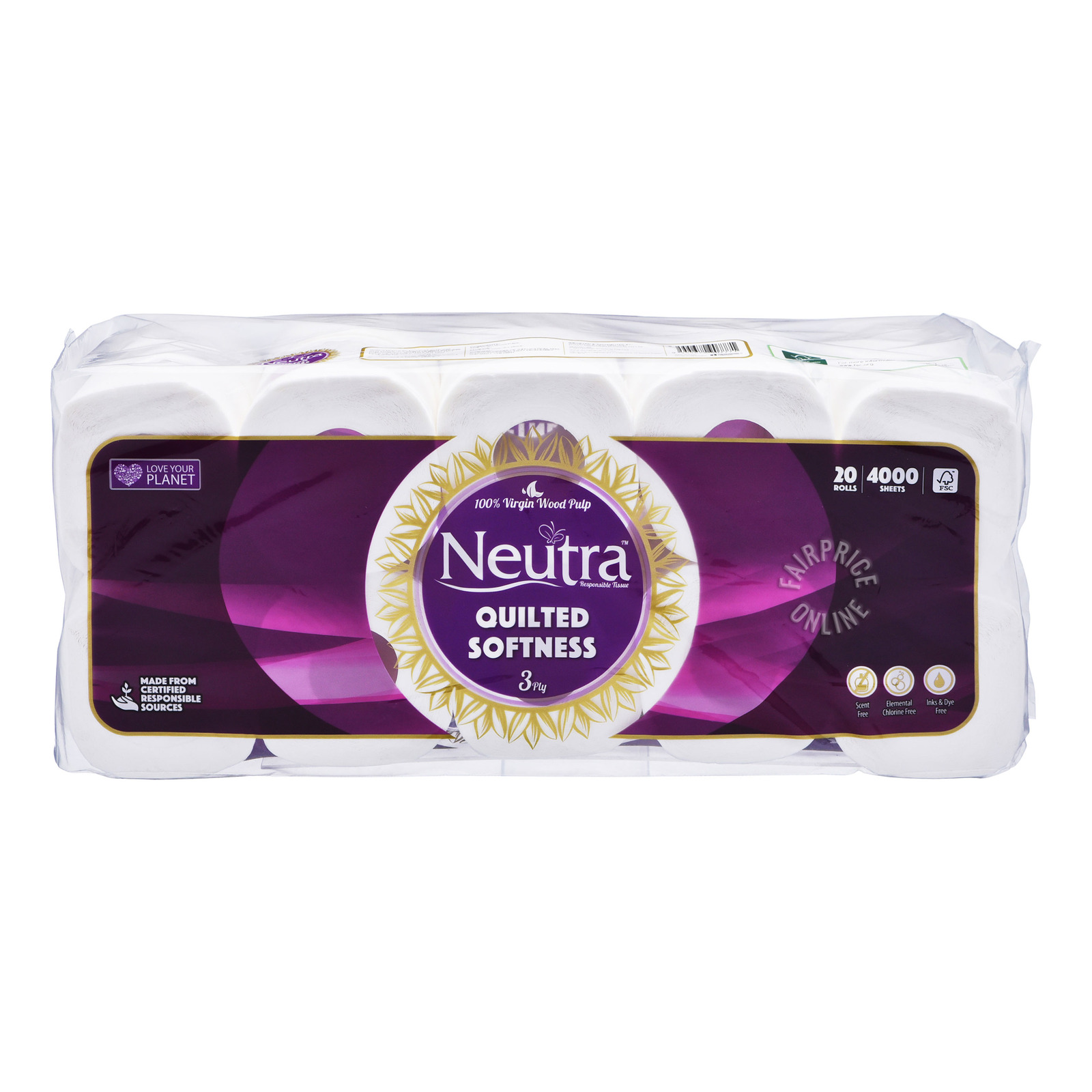 Neutra Toilet Tissue + Free Pocket Handy Tissue