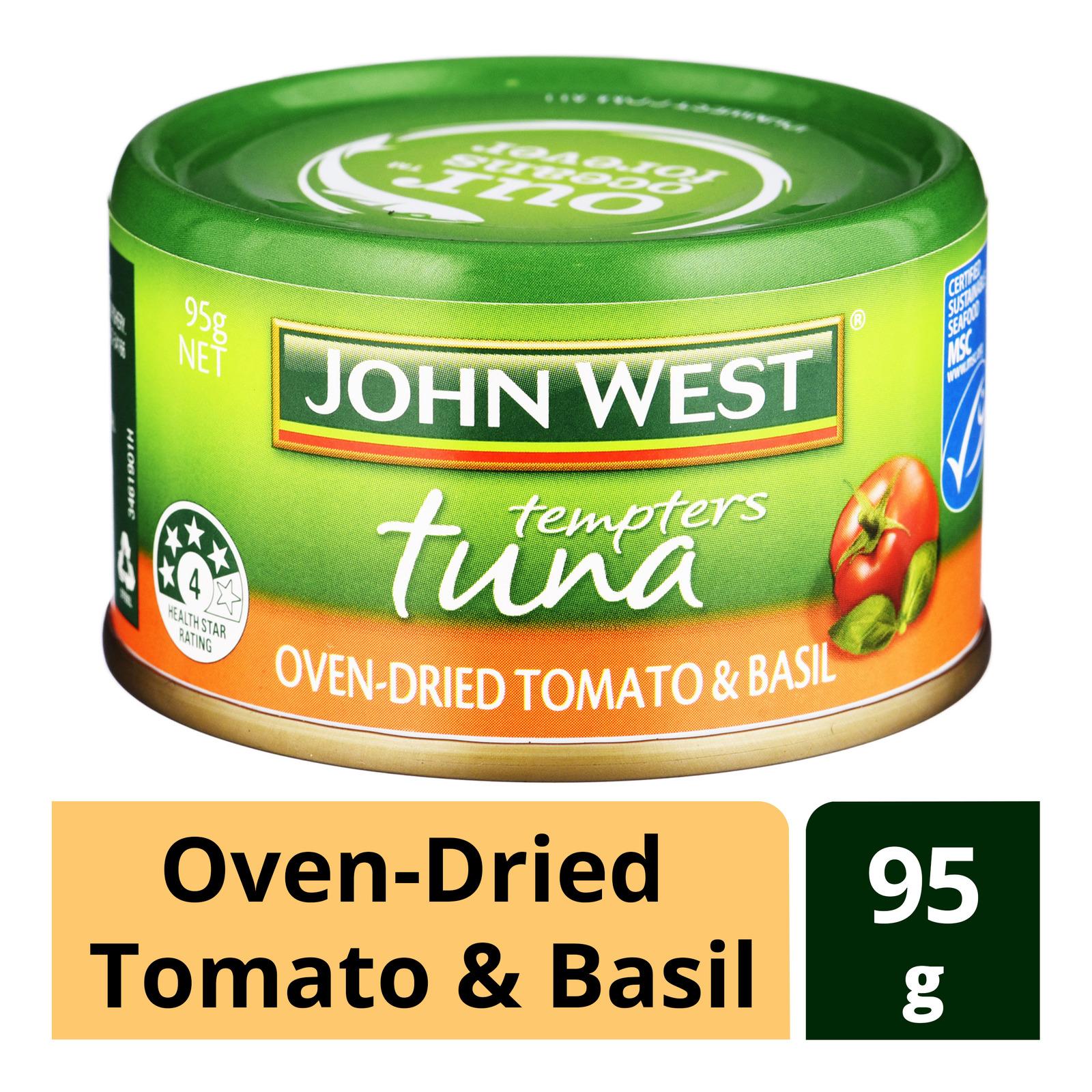 John West Tempters Tuna - Oven-Dried Tomato & Basil