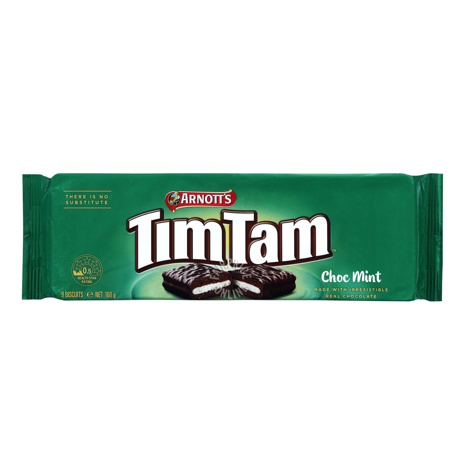 Arnott's Tim Tam Gelato Mesina Biscuit - Chocolate Mint
