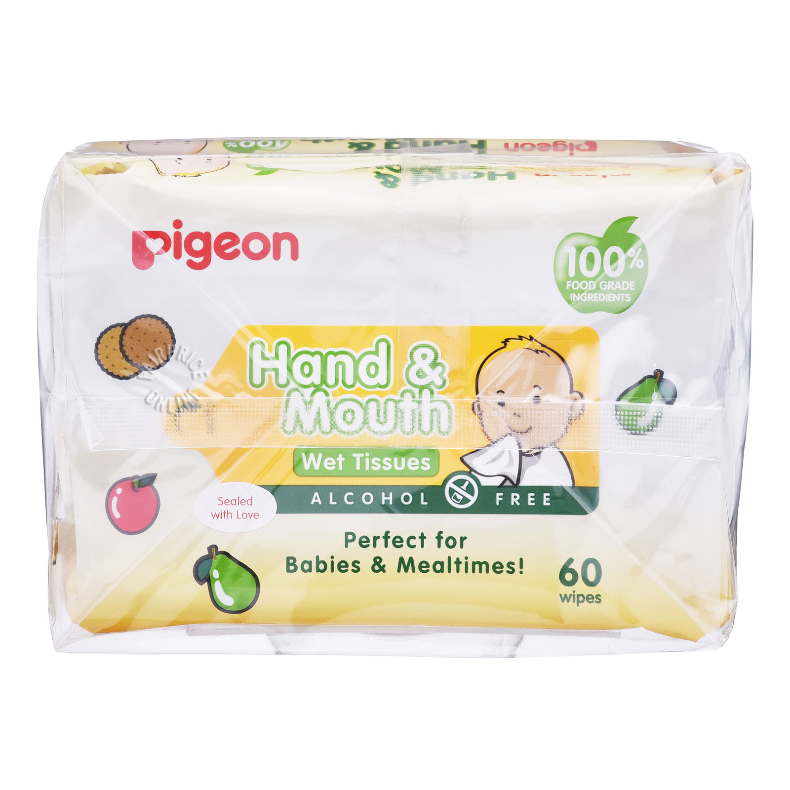 Pigeon Baby Wet Tissues - Hand & Mouth