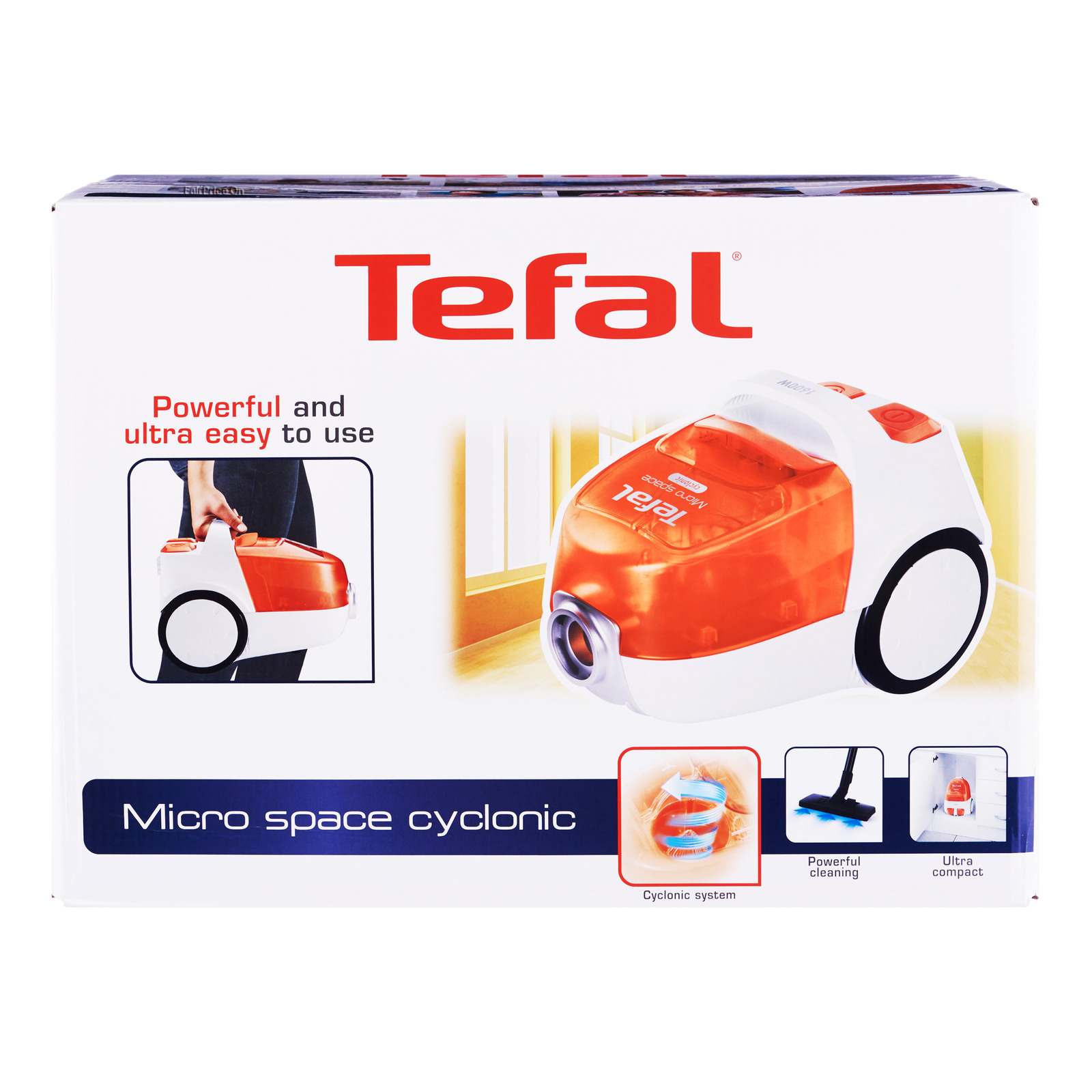Tefal Vacuum Cleaner - Micro Space Cyclonic (TW3233HH)