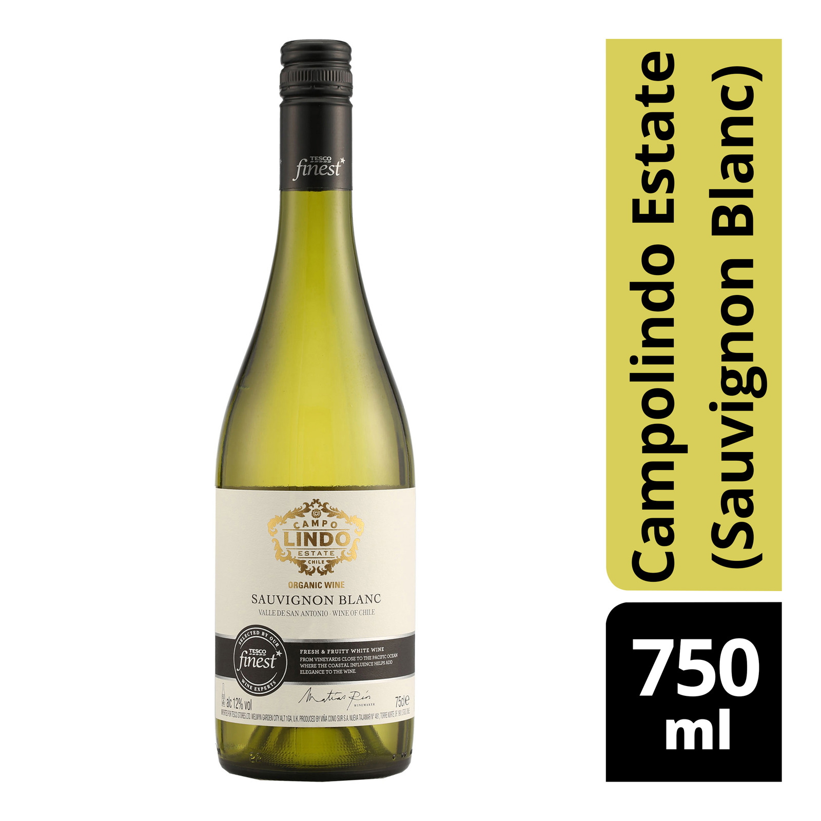 Tesco Finest White Wine - Campolindo Estate(Sauvignon Blanc)