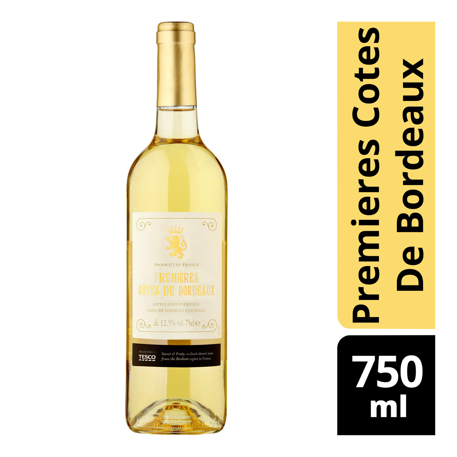 Tesco White Wine - Premieres Cotes De Bordeaux