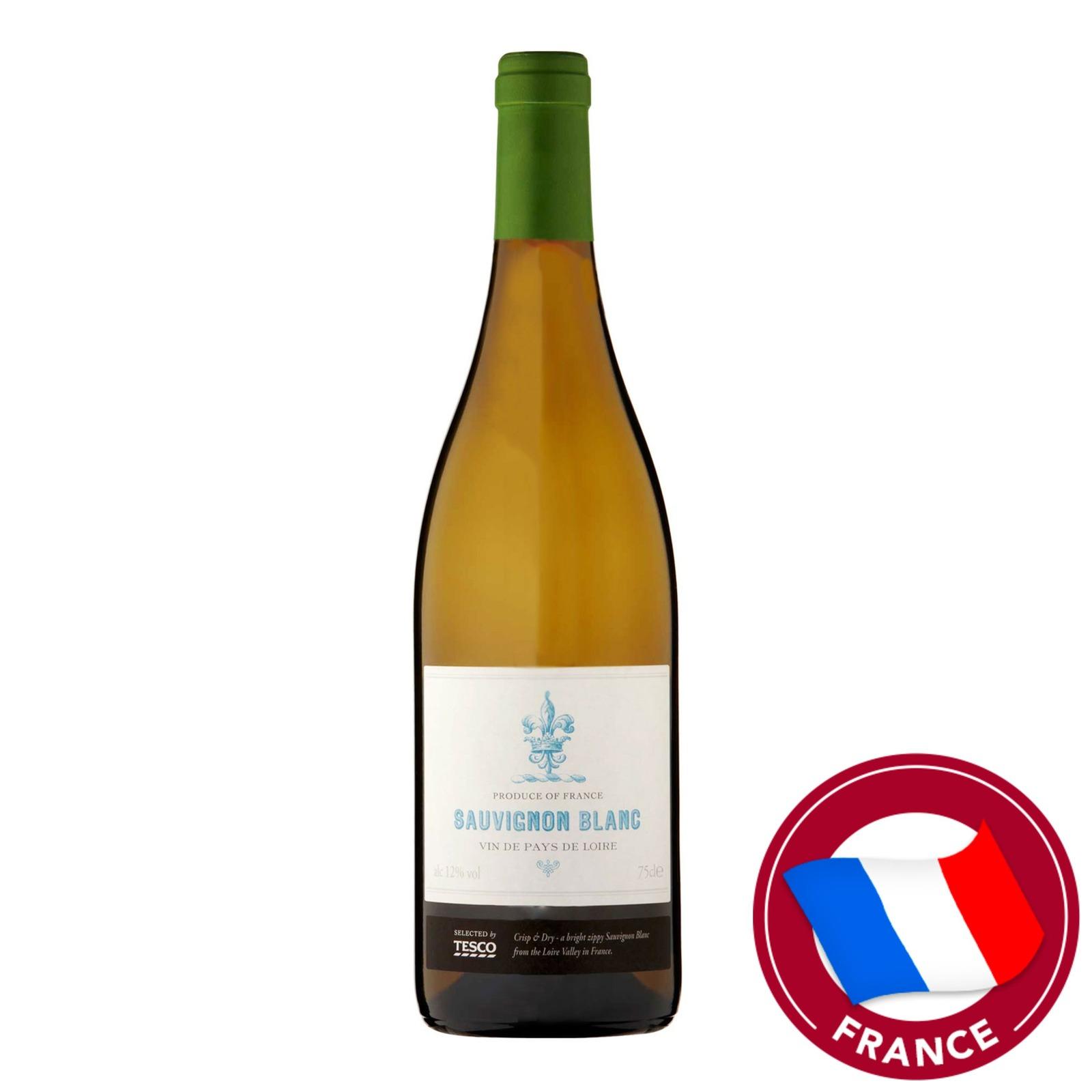 Tesco White Wine - Vin de Pays de Loire Blanc