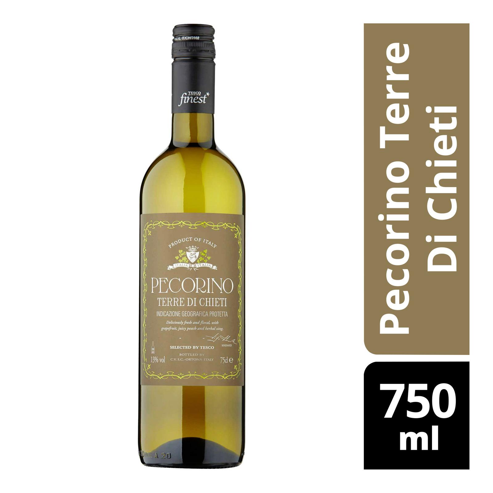 Tesco Finest White Wine - Pecorino Terre Di Chieti