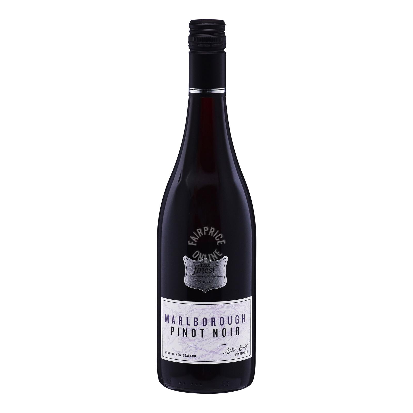 Tesco Finest Red Wine - Marlborough Pinot Noir
