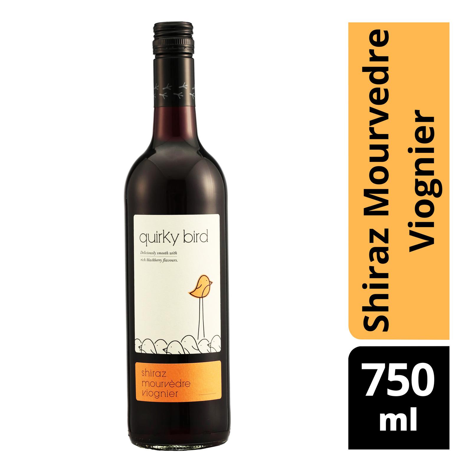 Tesco Quirky Bird Red Wine - Shiraz Mourvedre Viognier