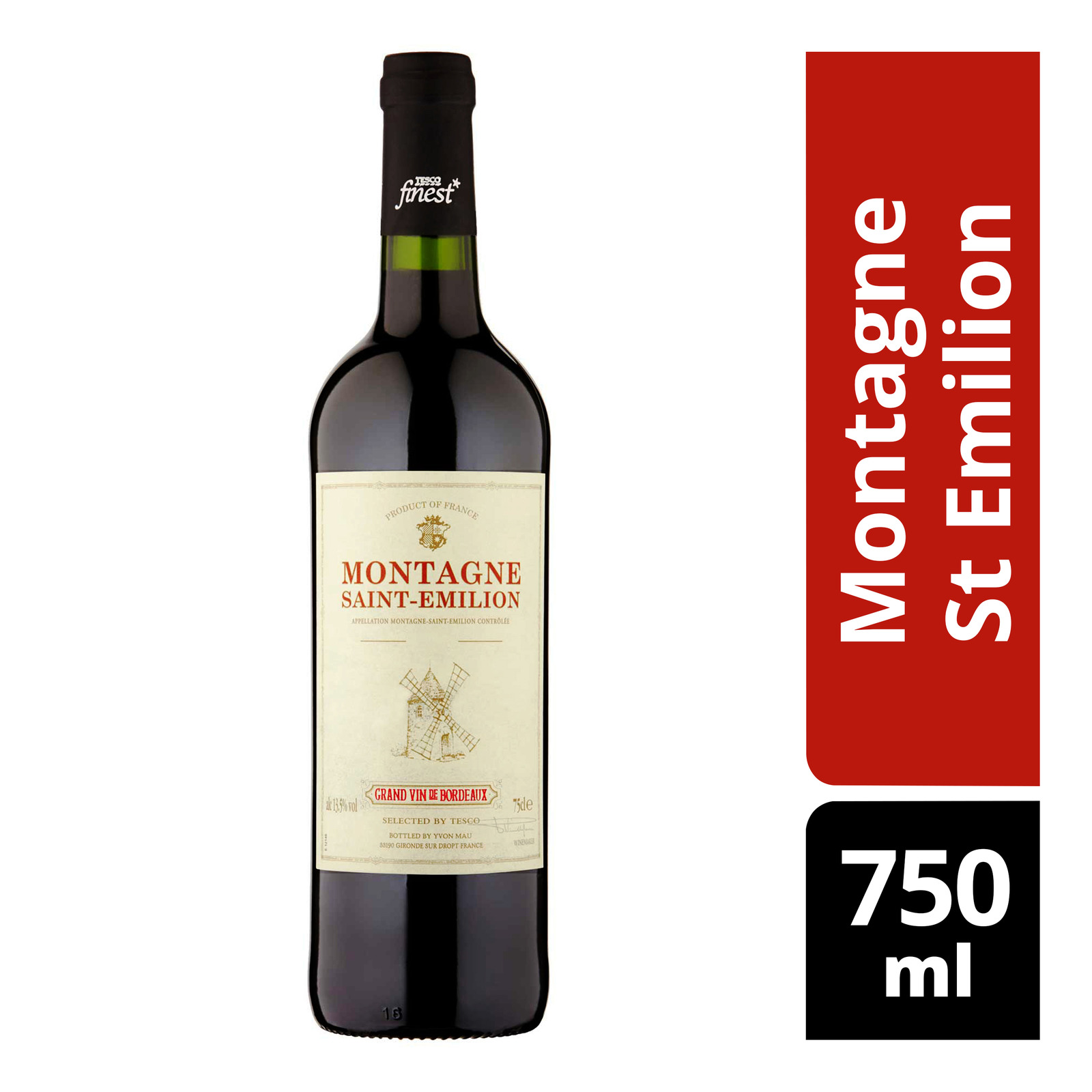 Tesco Finest Red Wine - Montagne St Emilion