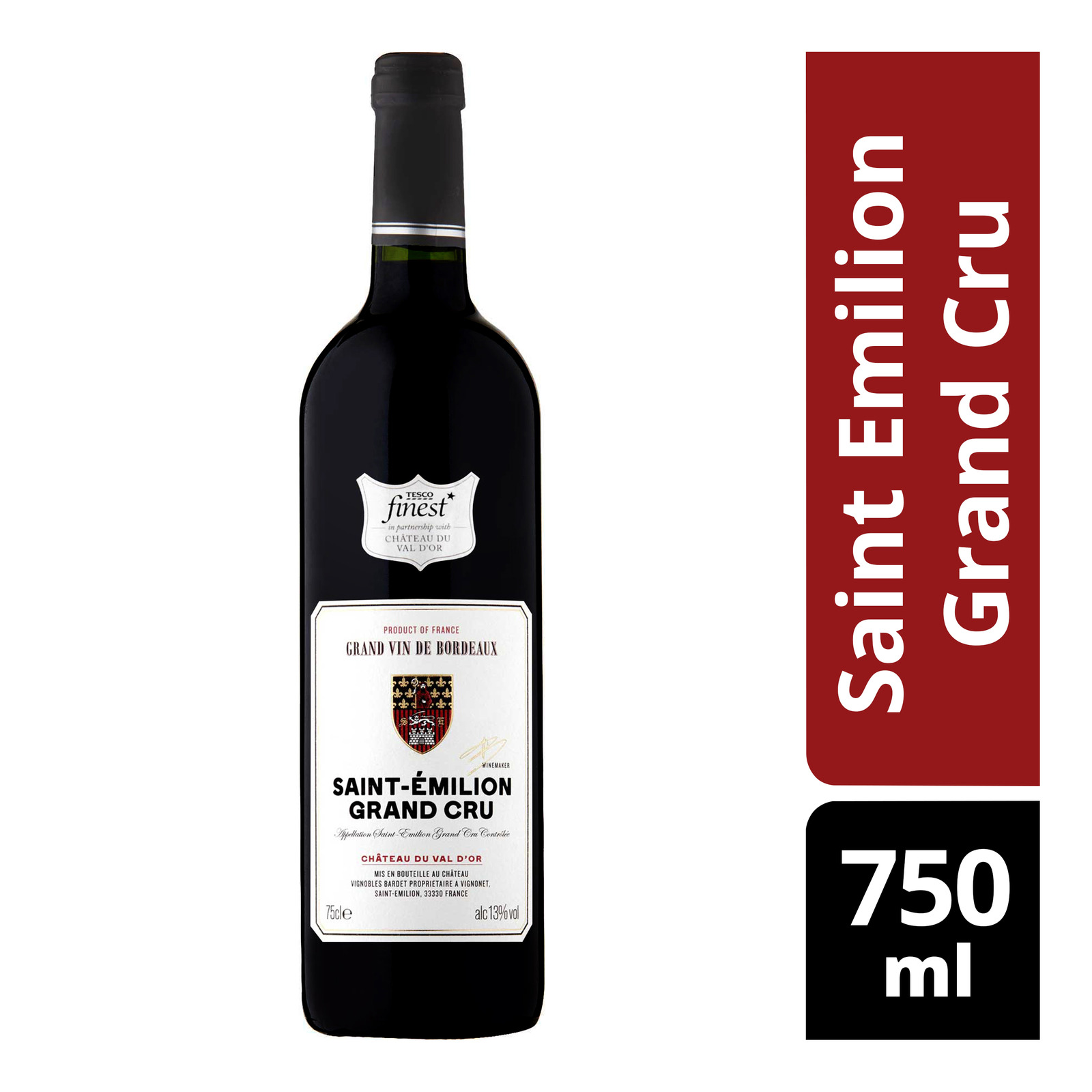 Tesco Finest Red Wine - Saint Emilion Grand Cru