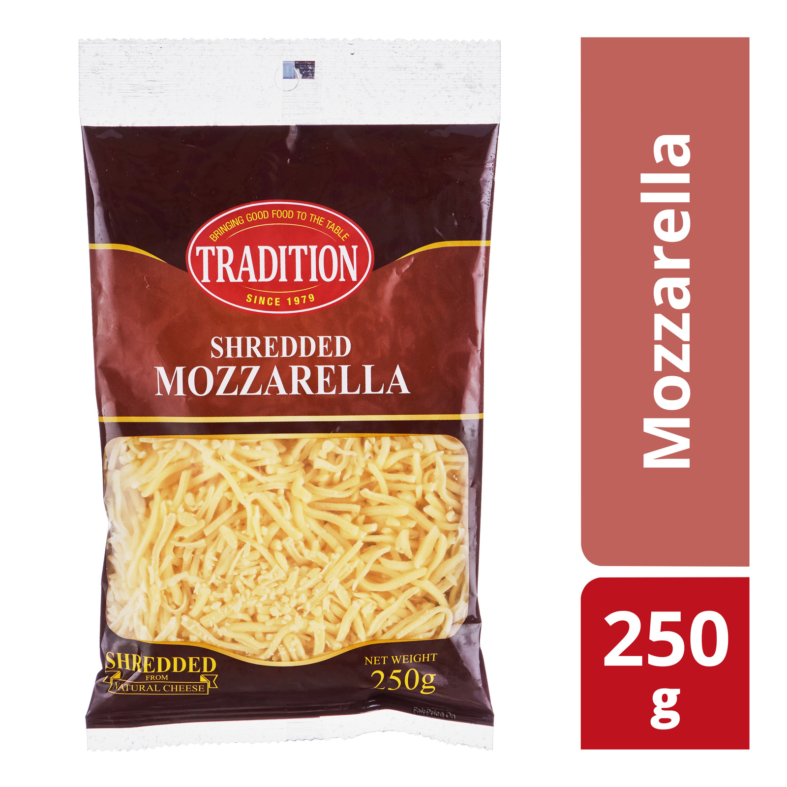 TRADITION Shredded Mozzarella Cheese 250g