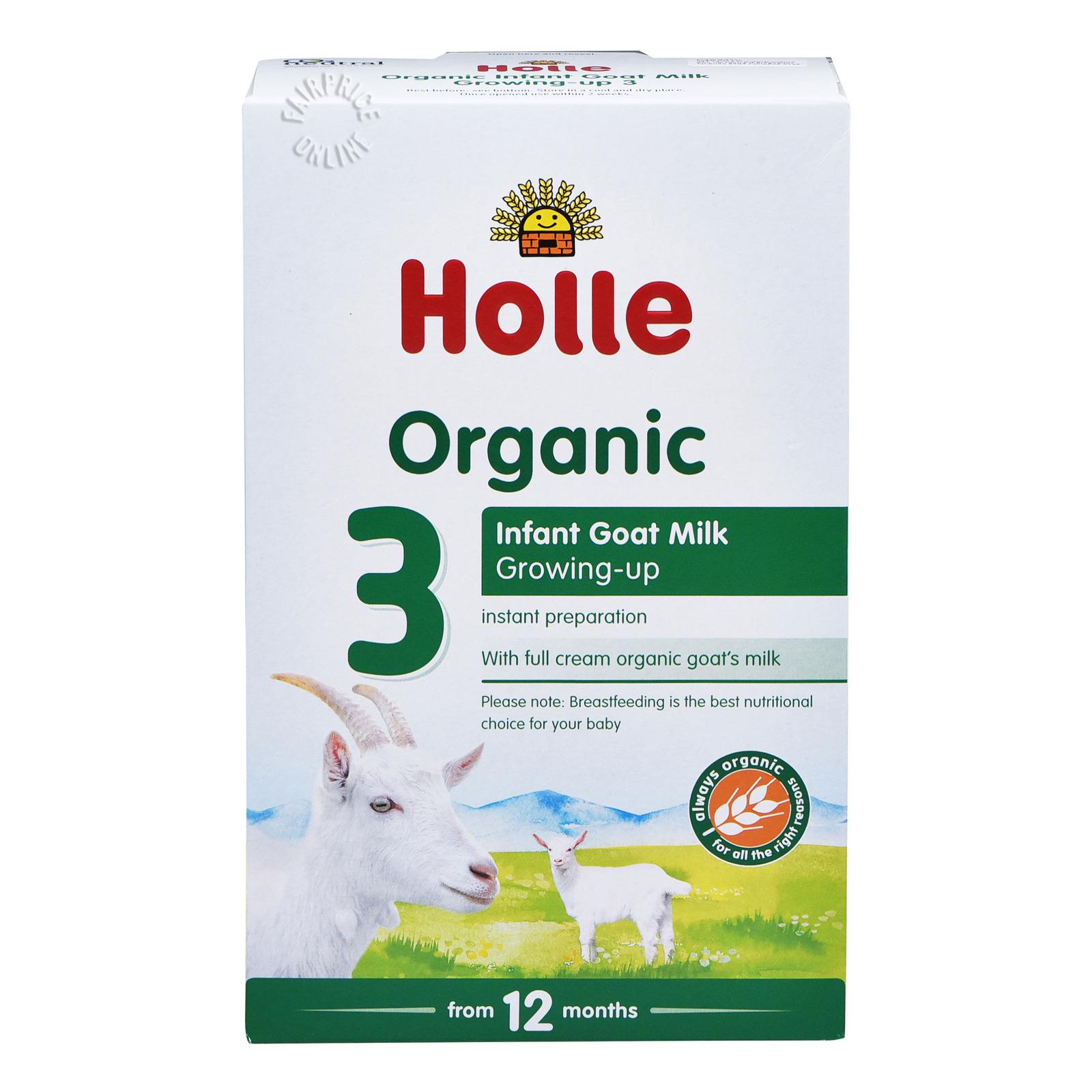 Holle Organic Follow On Infant Goat Milk Formula - Step 3