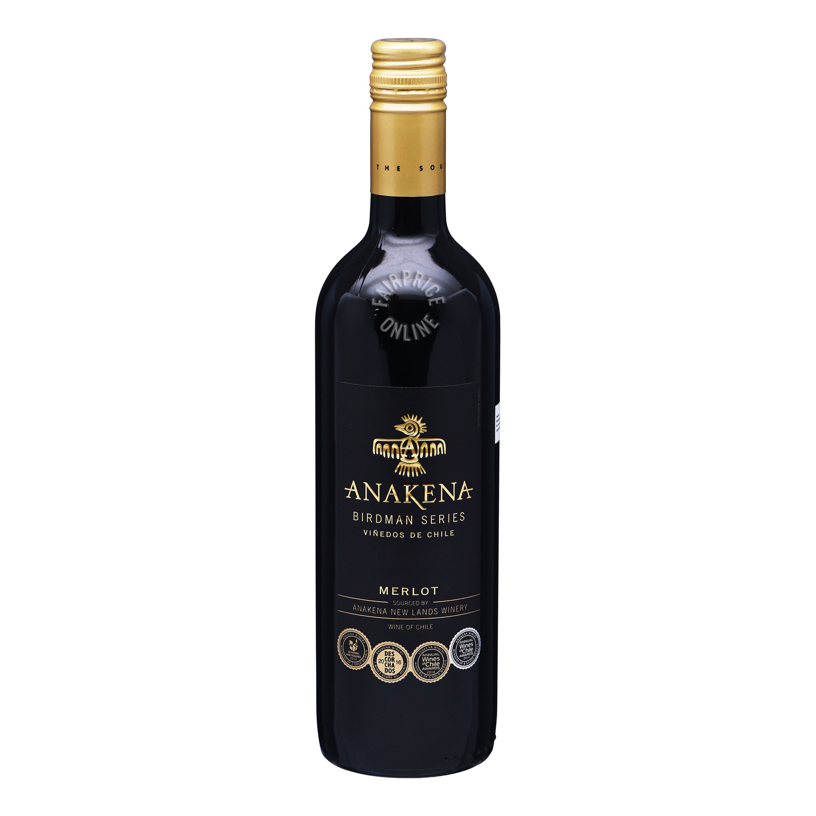Anakena Red Wine - Merlot