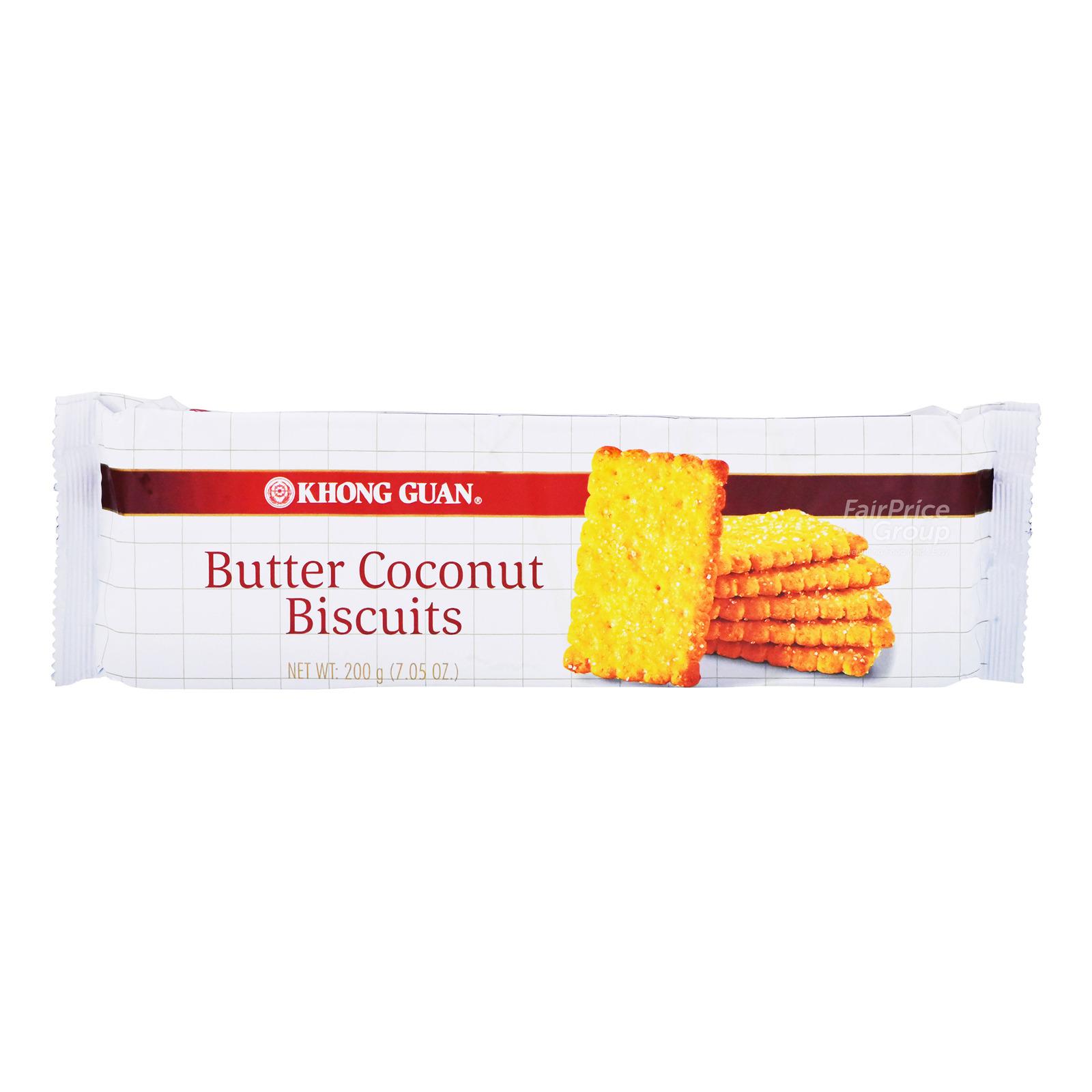 Khong Guan Biscuits - Butter Coconut