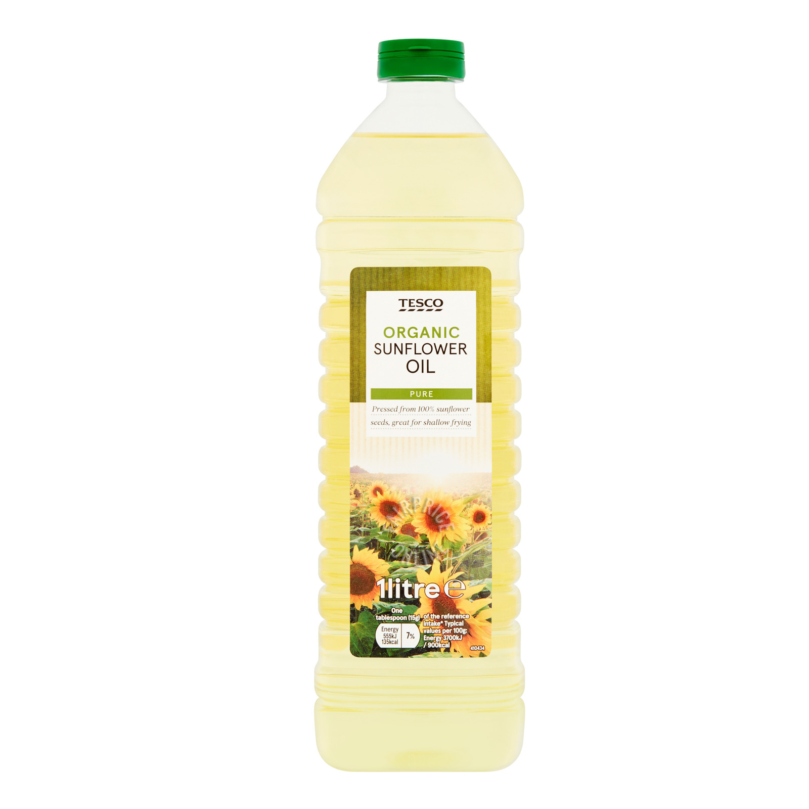 Tesco Organic Sunflower Oil