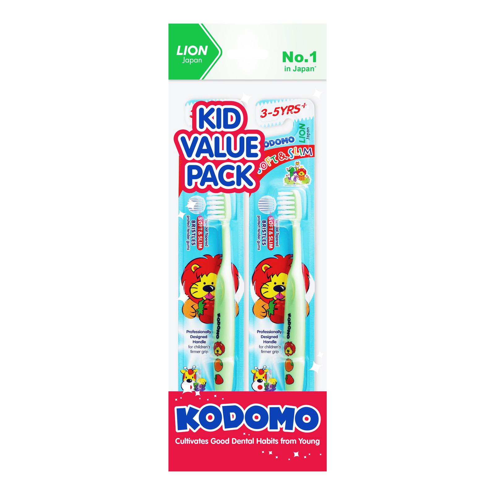 Kodomo Children Toothbrush - Soft & Slim (3 - 5 years)
